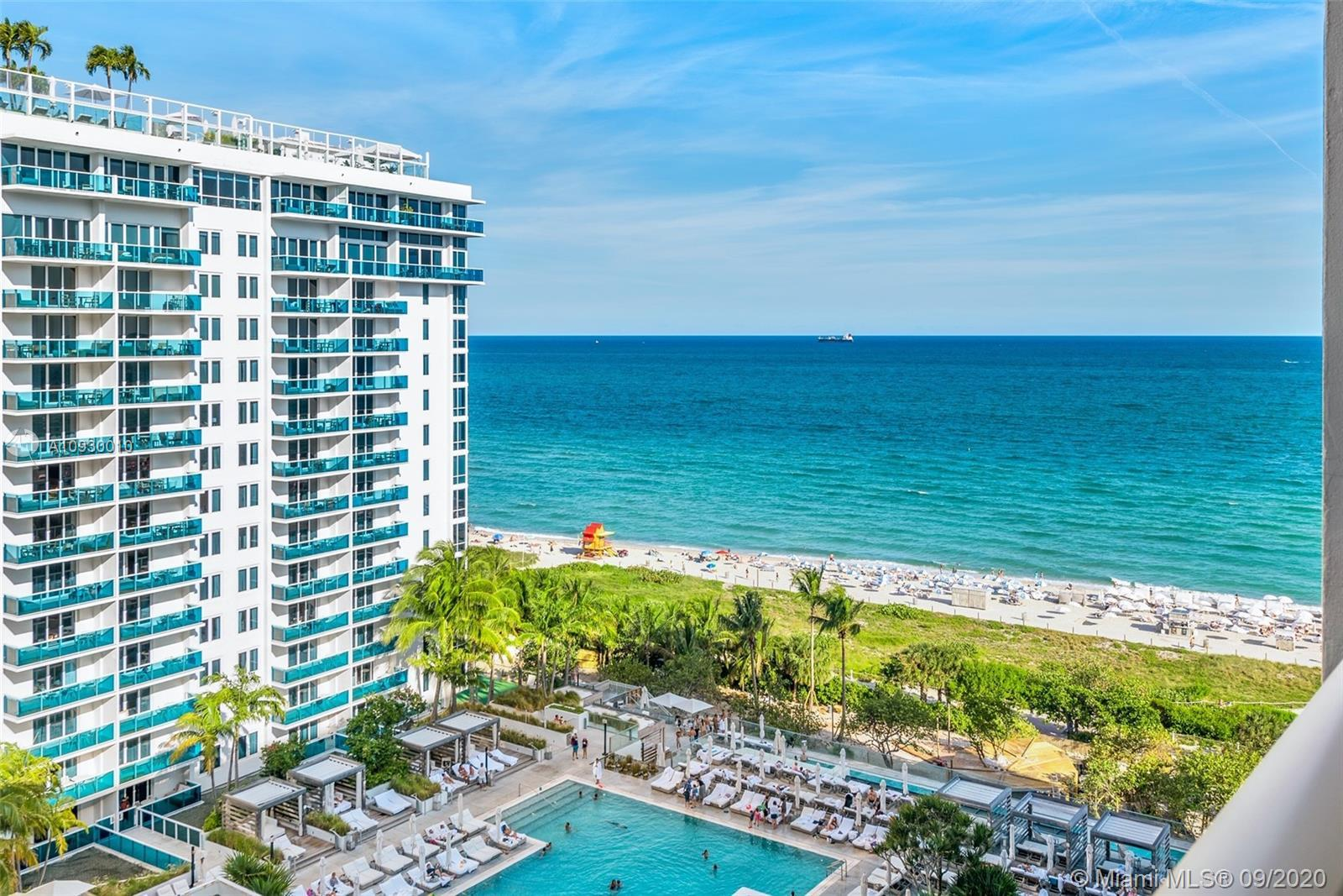 This is a DIRECT OceanView remodeled condo, right here in the heart of South Beach, in the same comp