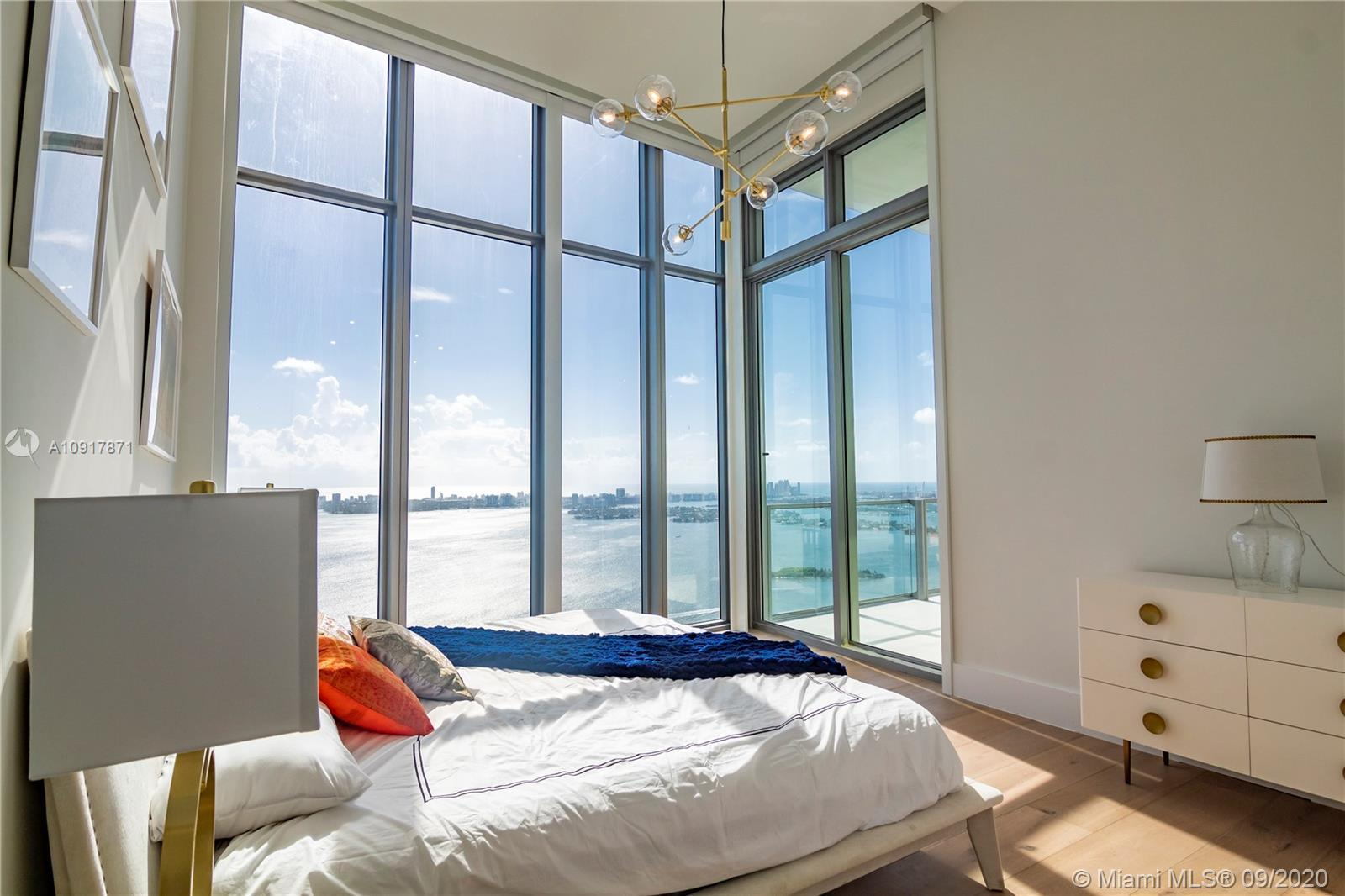 Spectacular 5 bedroom penthouse at the Biscayne Beach condominium. Fully furnished turn key. Incredi