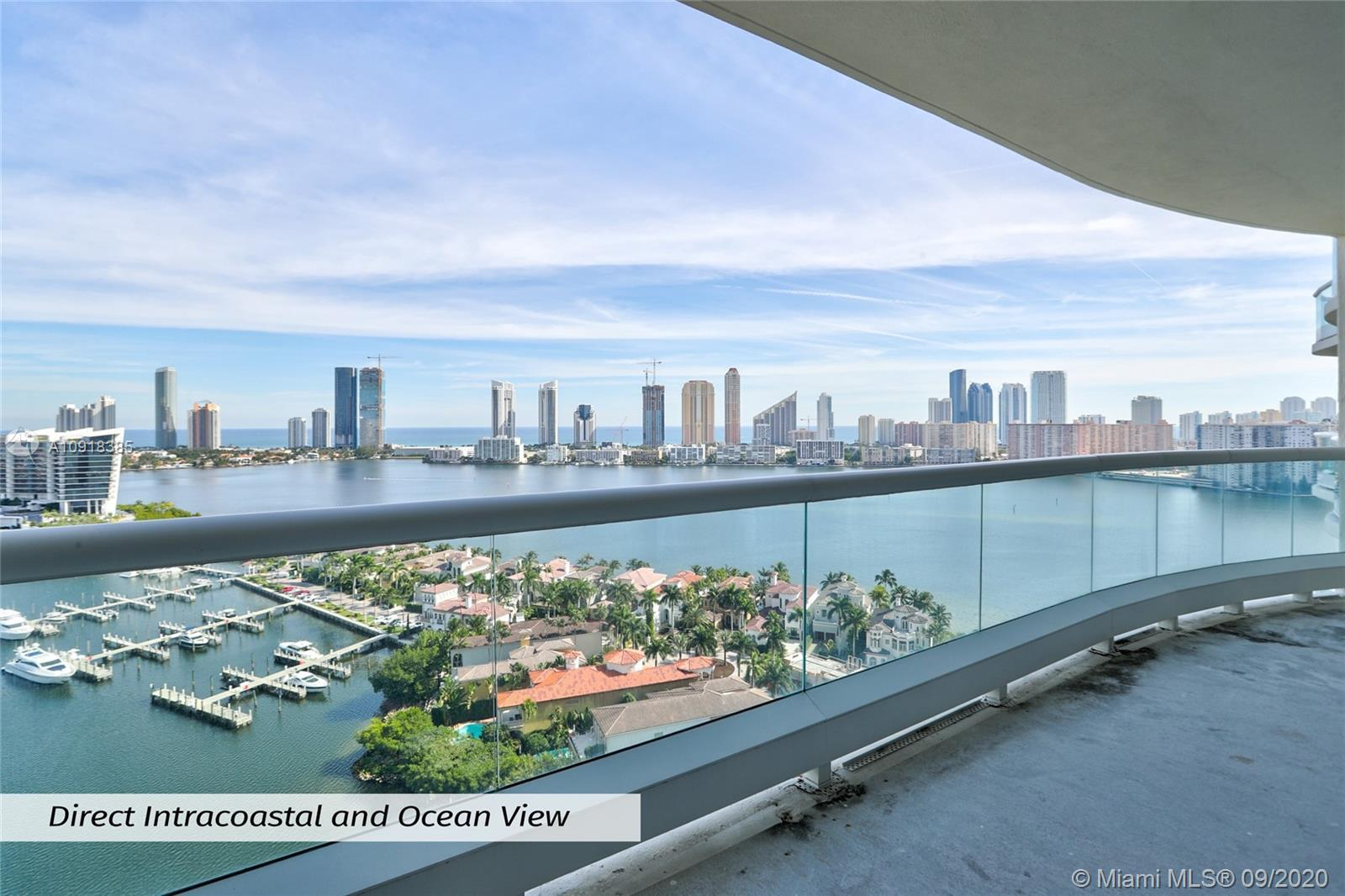 Take your private elevator to this true flow-thru sky residence w/Direct Intracoastal & Ocean views,