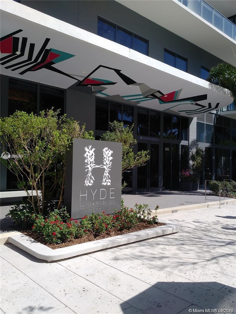 """The most desirable building in Midtown Miami """"HYDE"""".New construction, designer and upscale amenities"""
