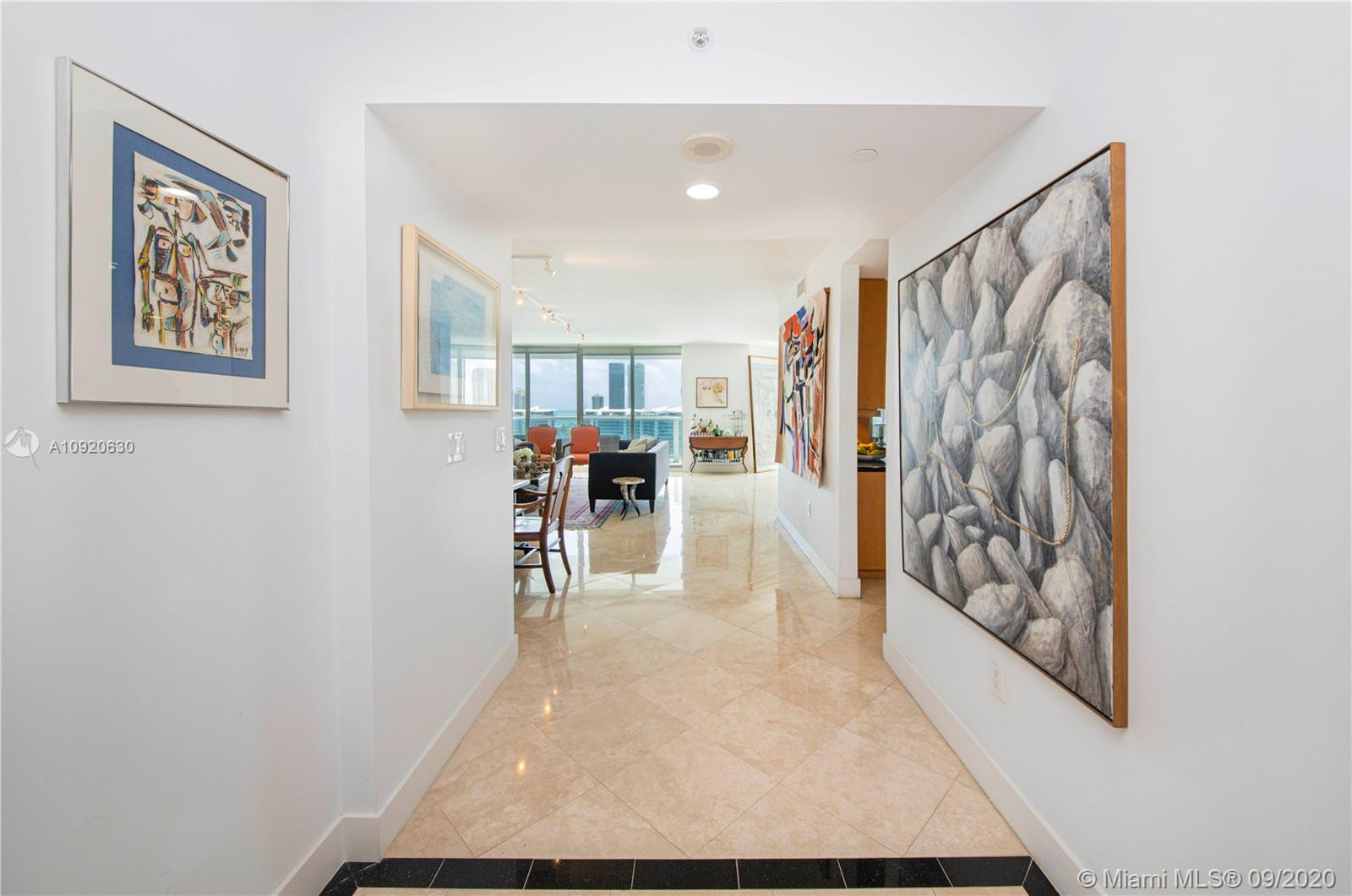 Enjoy luxury and comfort in this impeccable unit. This flow-through residence has a private elevator