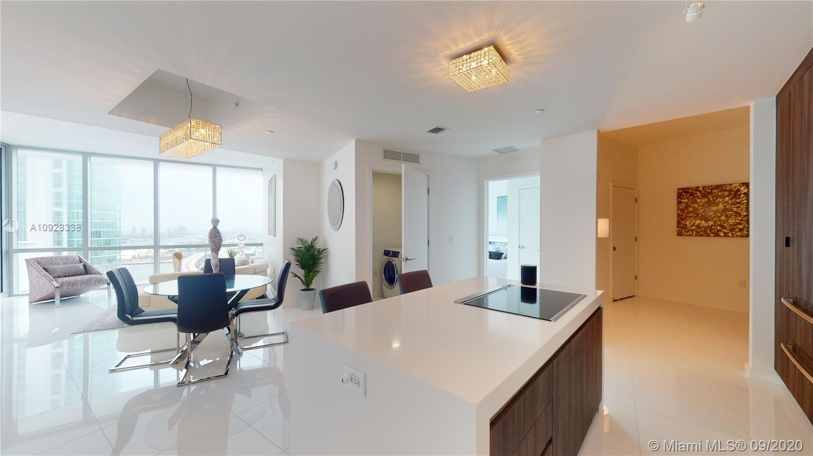 Experience the stunning views from this professionally furnished and decorated 1753 SQ FT Residence
