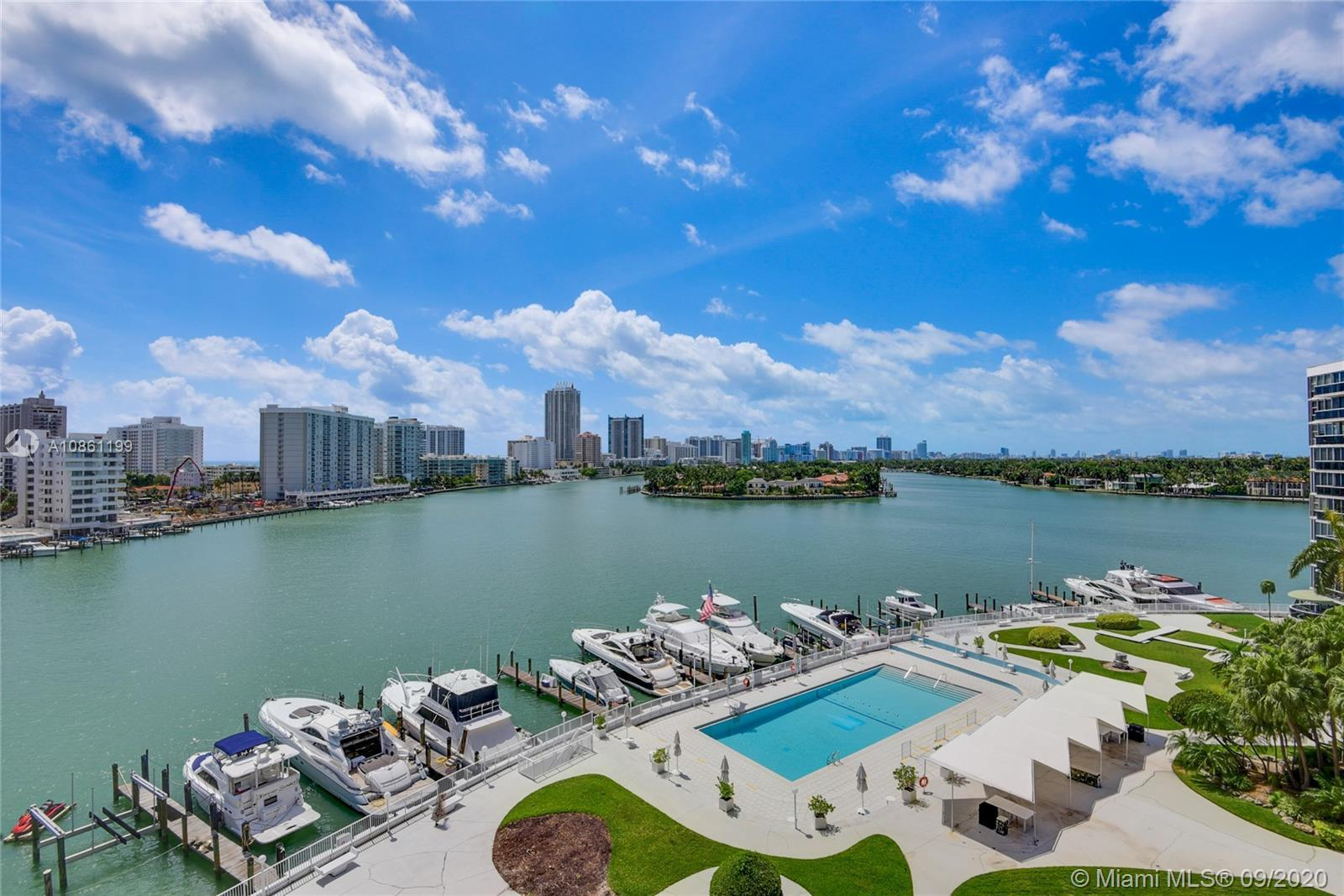 Beautiful newly renovated, 3,132 square foot condo in the sky in Miami Beach. Corner unit, newly ins