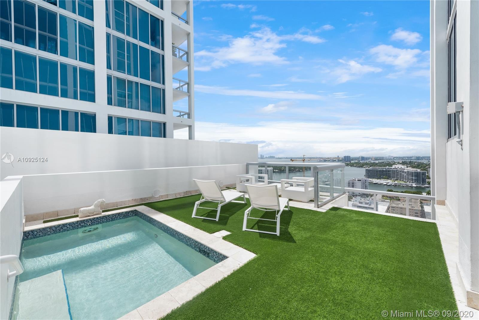 Located at The Carillon in Miami Beach sits your own oceanfront oasis. One of only three units in th