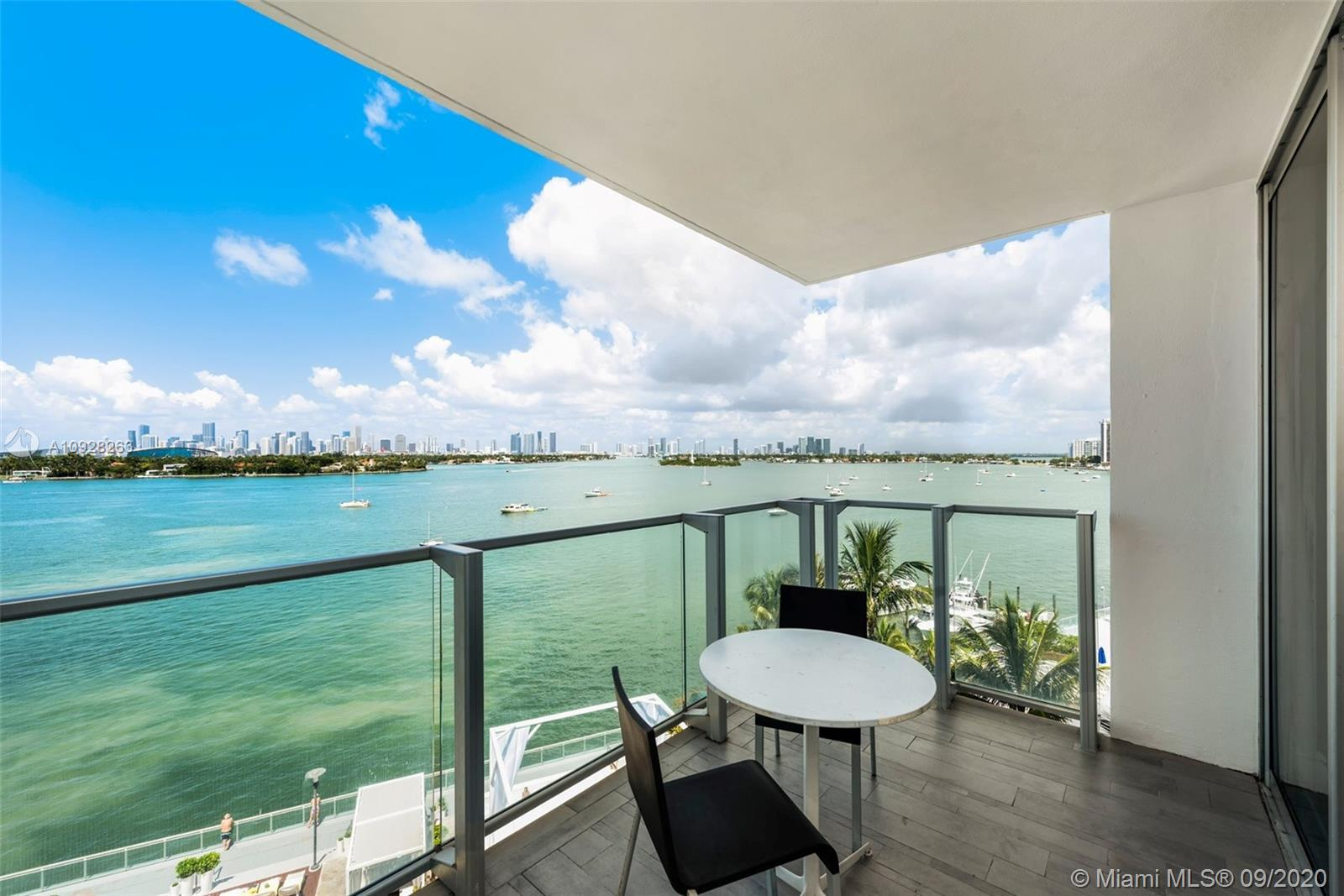 Enjoy a pampered hotel lifestyle in the best line at Mondrian! This 2BD/2BA residence features magic