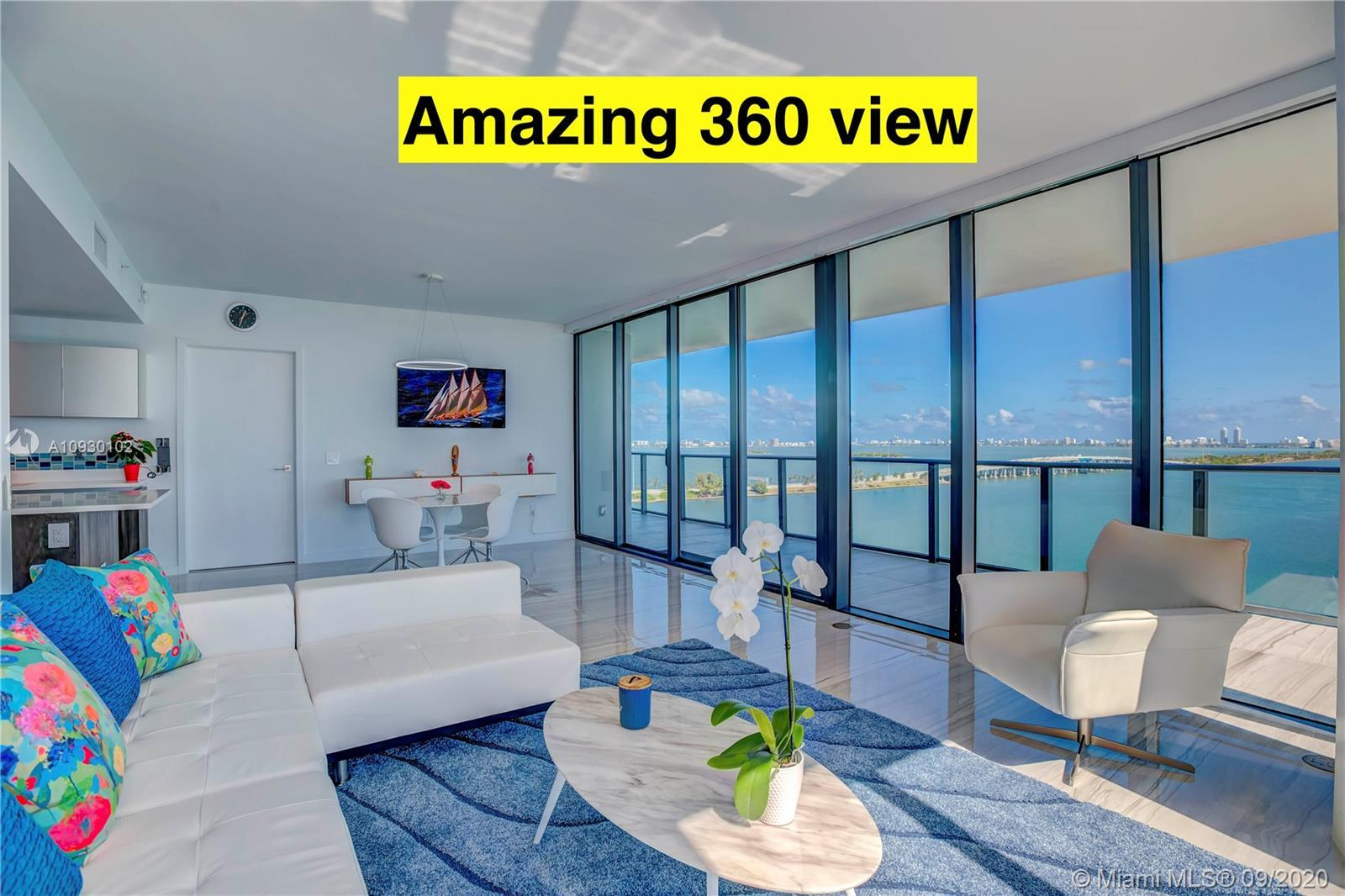 Amazing Corner Unit Located At the Luxury One Paraiso Building. 3 Beds , 3.5 Baths. Large Terraces w