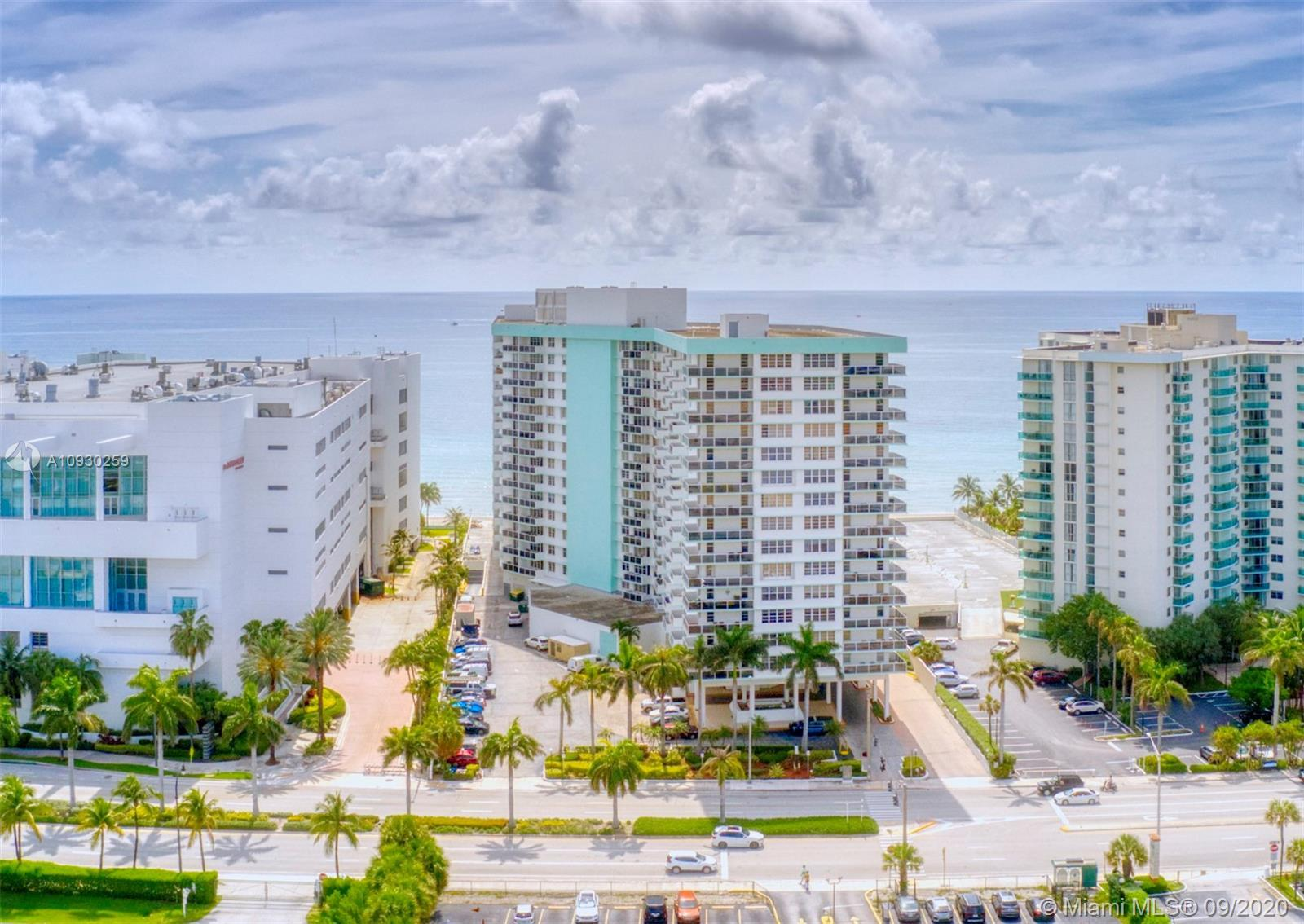 Fully furnished 1 bedroom/1.5 bathroom ocean view condo. Freshly painted, tile throughout, two Murph