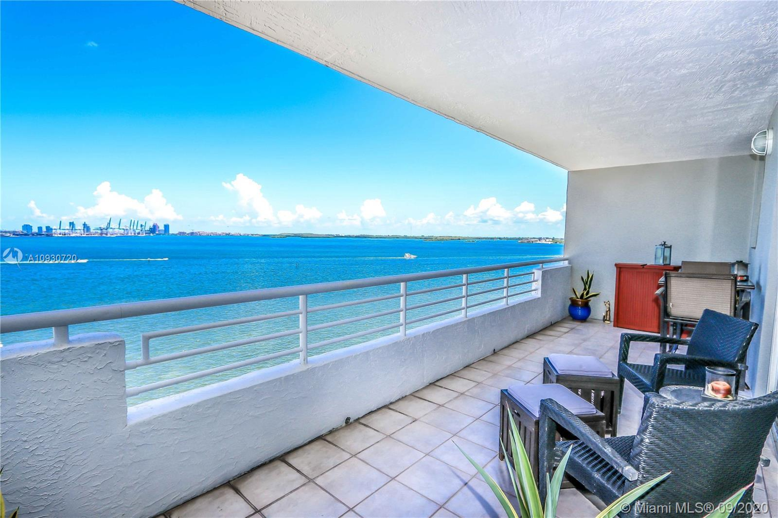 Enjoy Spectacular And Breathtaking Direct Water Views From This Amazing 2 Bedrooms / 2 Baths Corner