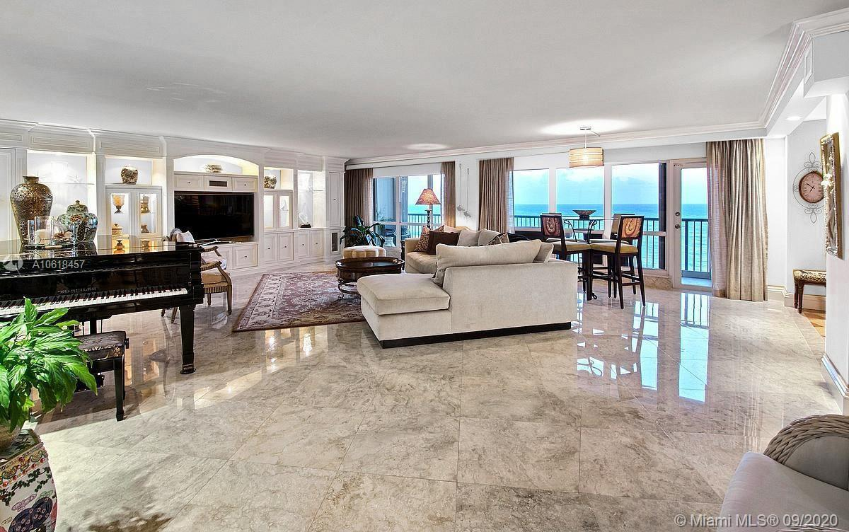 GORGEOUS, SPACIOUS DIRECT OCEANFRONT CONDO. STUNNING OCEAN, INTRACOASTAL AND SKYLINE VIEWS. QUALITY