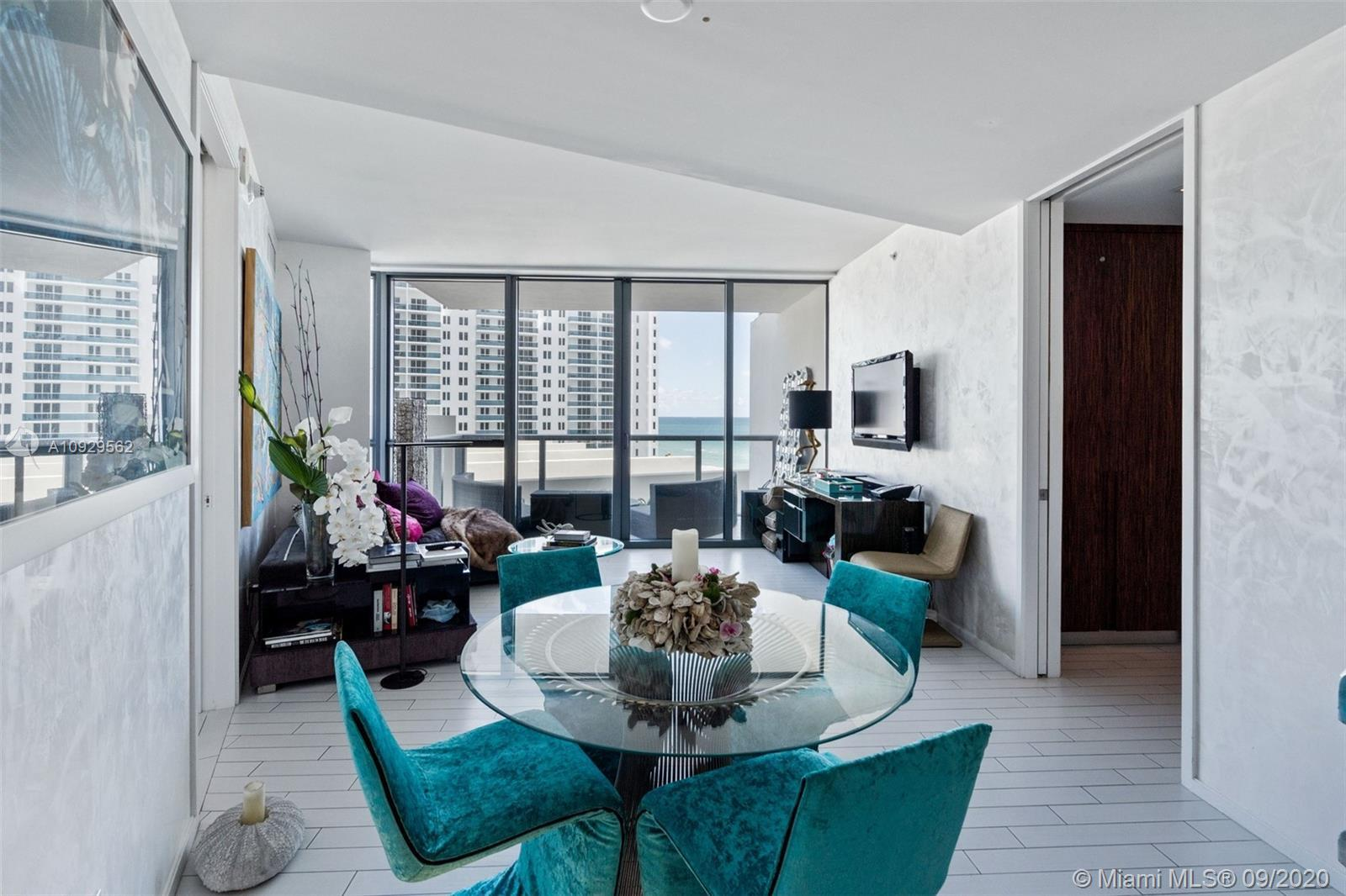 This luxury residence at the W South Beach is a 2 bedroom 2.5 bathroom suite. The master bedroom has
