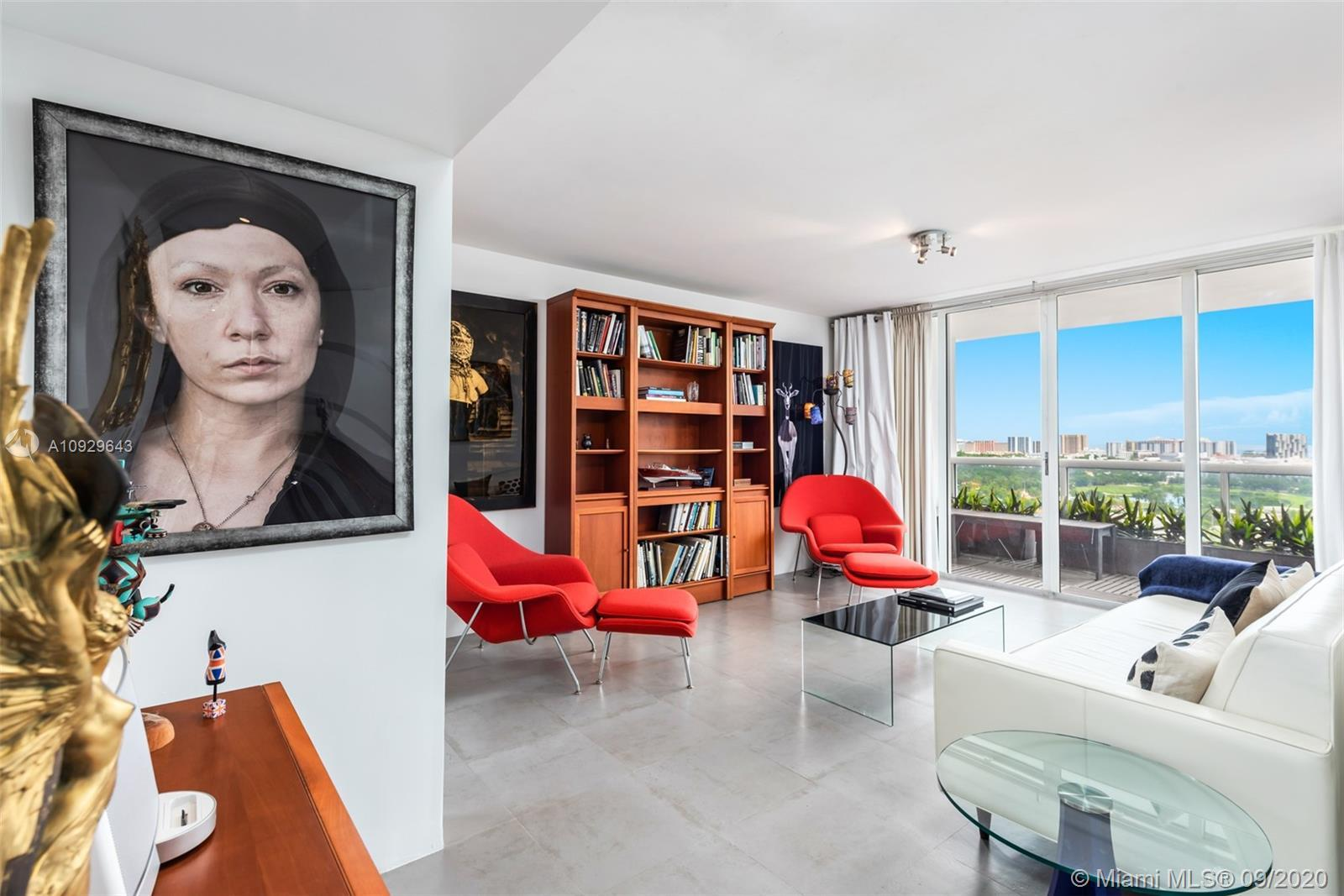 Fully renovated, this 2-bed, 2-baths loft-style 1,270 SF home in Sunset Harbour features floor-to-ce