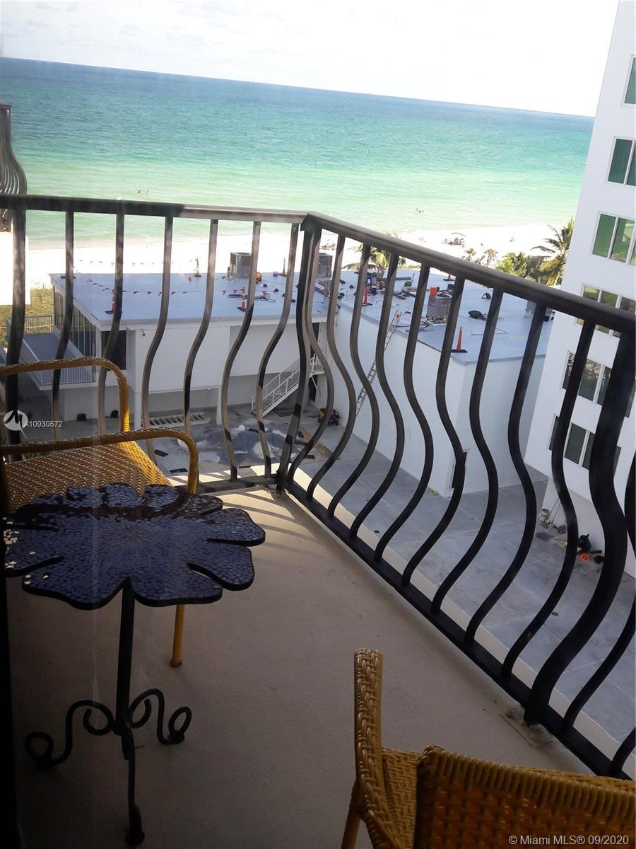 Ocean View and Amazing Sunsets in this renovated 1 bed Penthouse at the desirable Miami Beach Millio