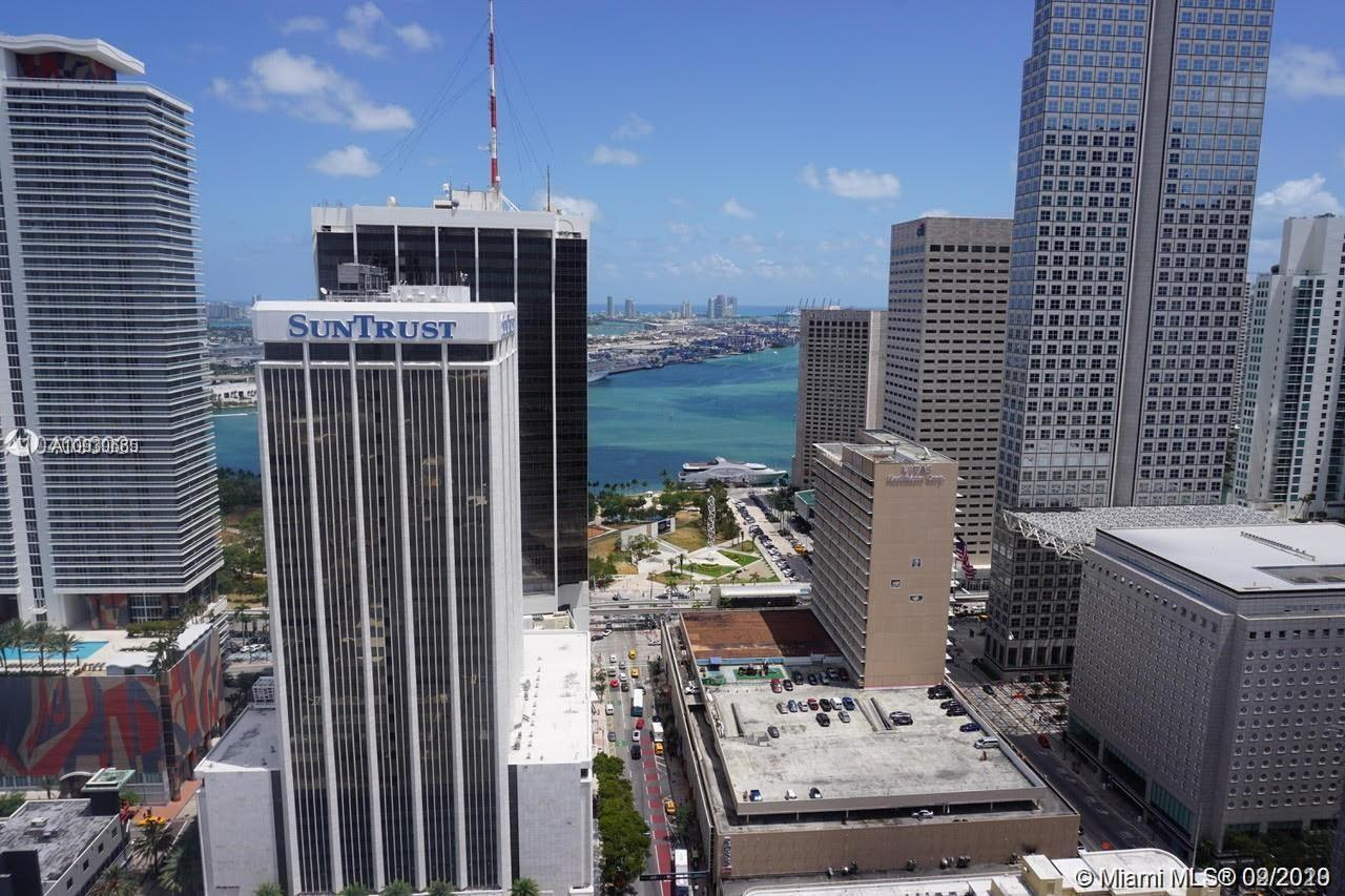 """BEST Corner Unit"" in the Building. NEW Condo in Downtown Miami. Live in this new and UPGRADED 2 bed"