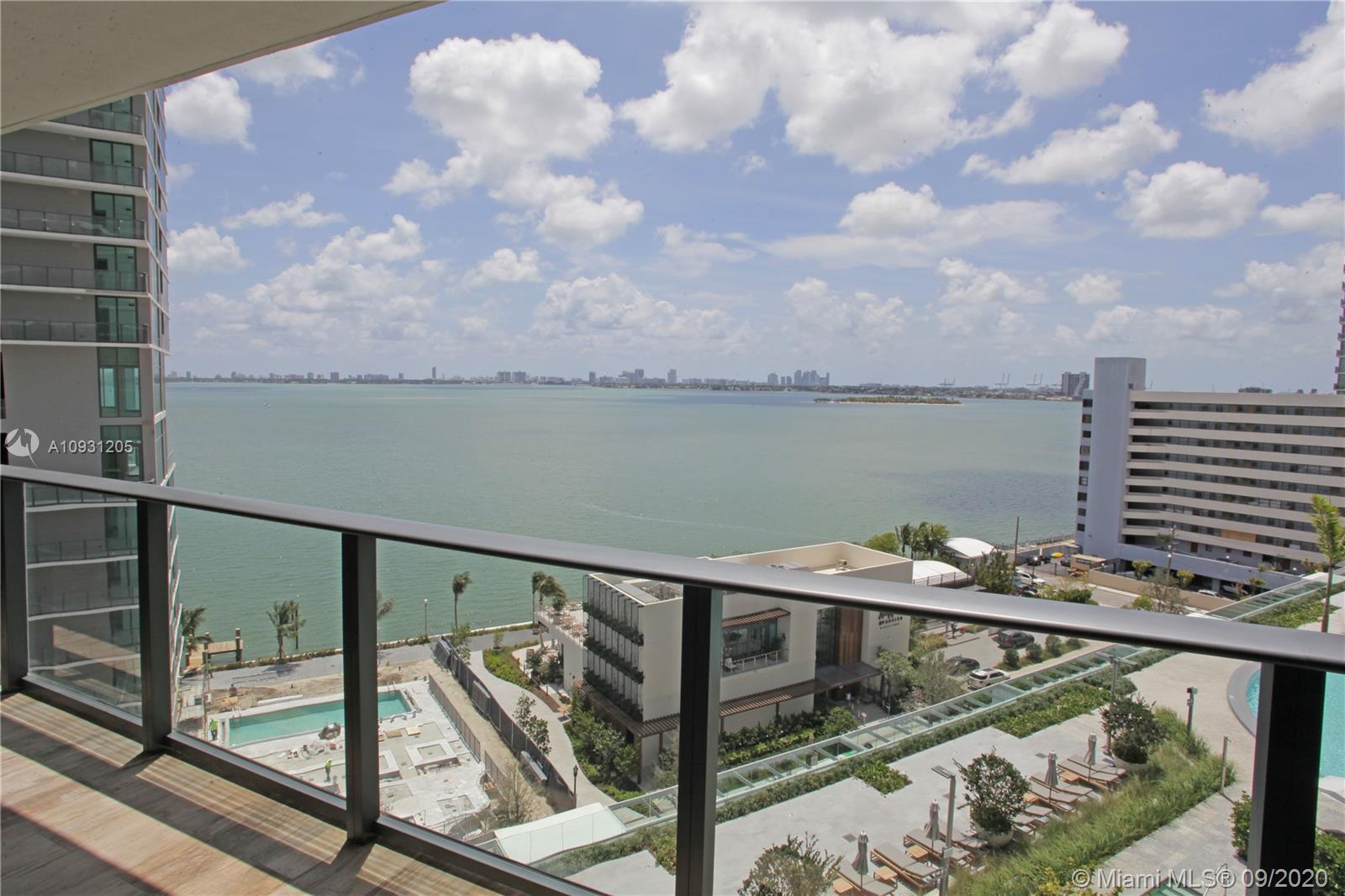 2 Bed 2 Bath +Den with Direct Water Views! 1,244 SqFt under A/C, 9 foot ceilings, FULLY FINISHED WIT