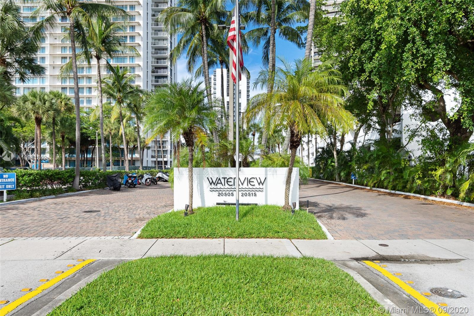 Updated Corner Unit.  Large 2 bedrooms, 2 bathrooms, washer and dryer in the unit.  Beautiful water