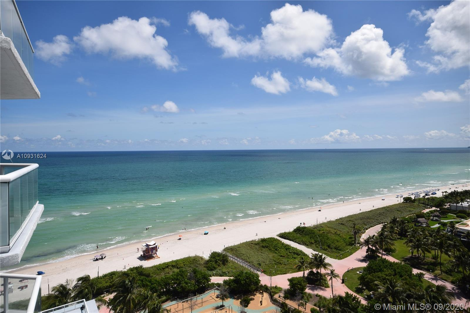 Most desirable side of the building with unobstructed ocean and intracoastal views! The parking spot
