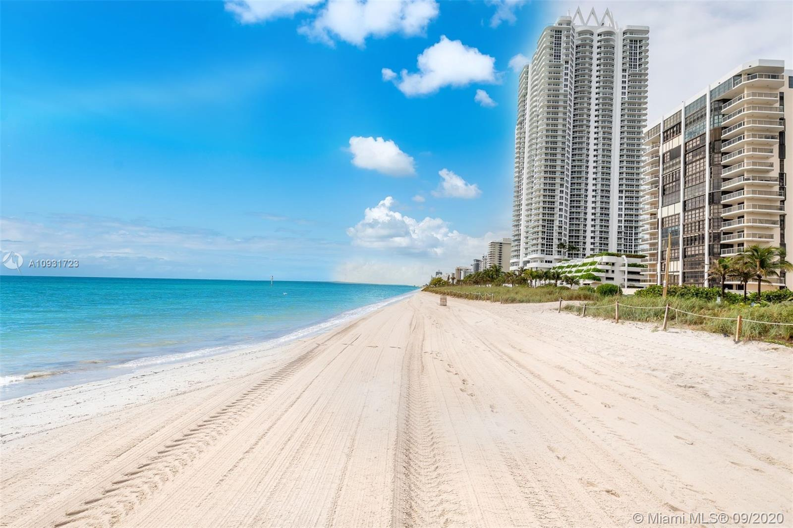 Beautiful Ocean, Bay and City Views from this 10th Floor Corner Unit in recently renovated Oceanfron