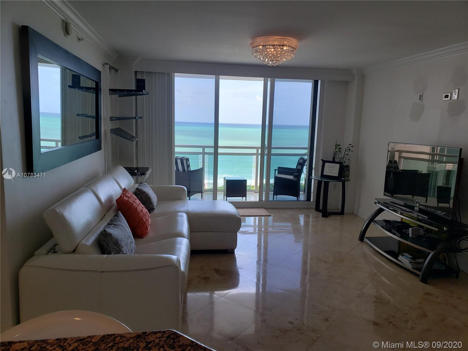Breathtaking direct unobstructed Ocean View from every room. Unique Floorplan 1 Bed + 1 DEN & 1.5 Ba