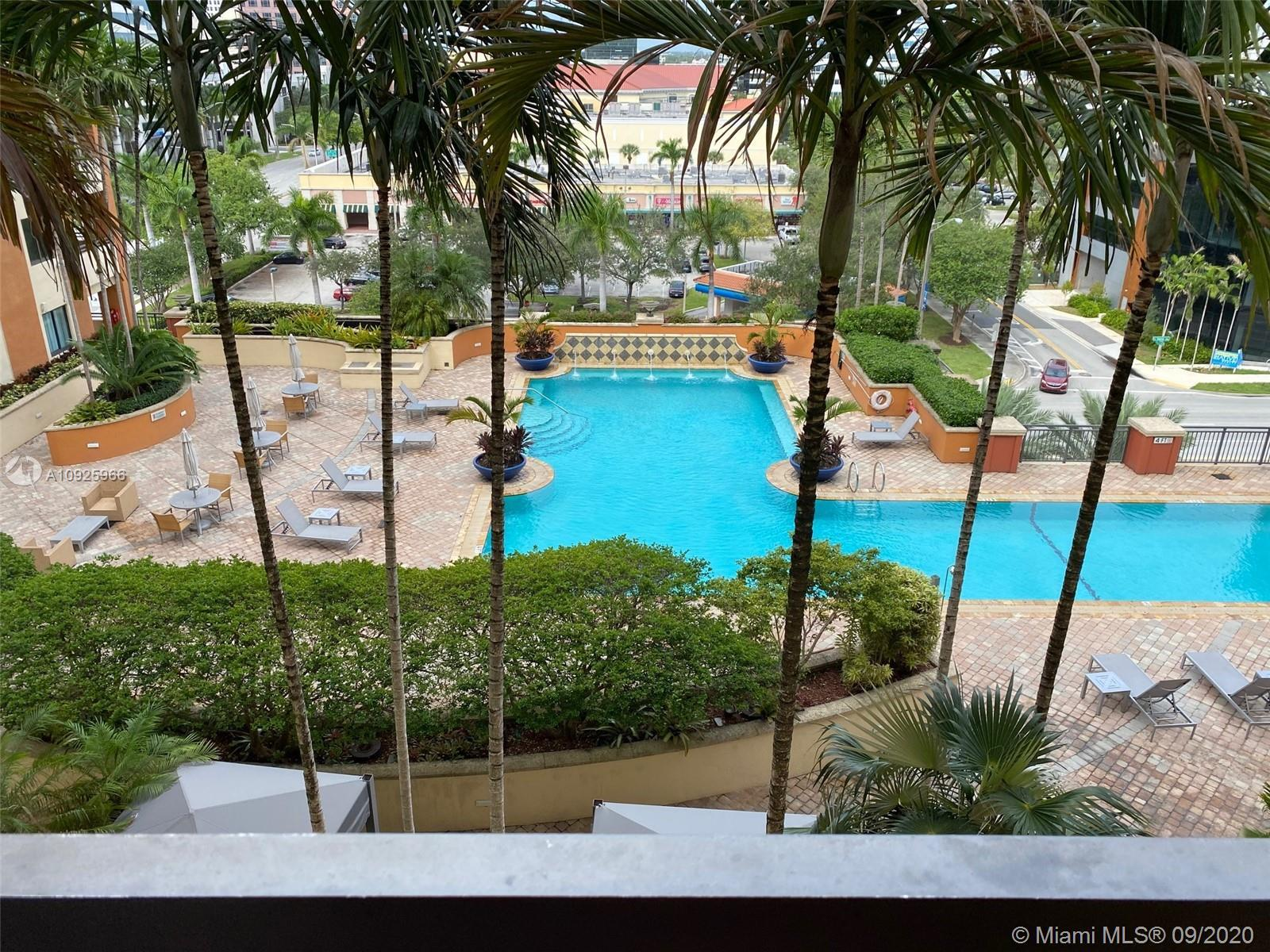 Wonderful, renovated 2 bedroom/2 baths unit. Fabulous view of the pool deck. Located in upscale buil