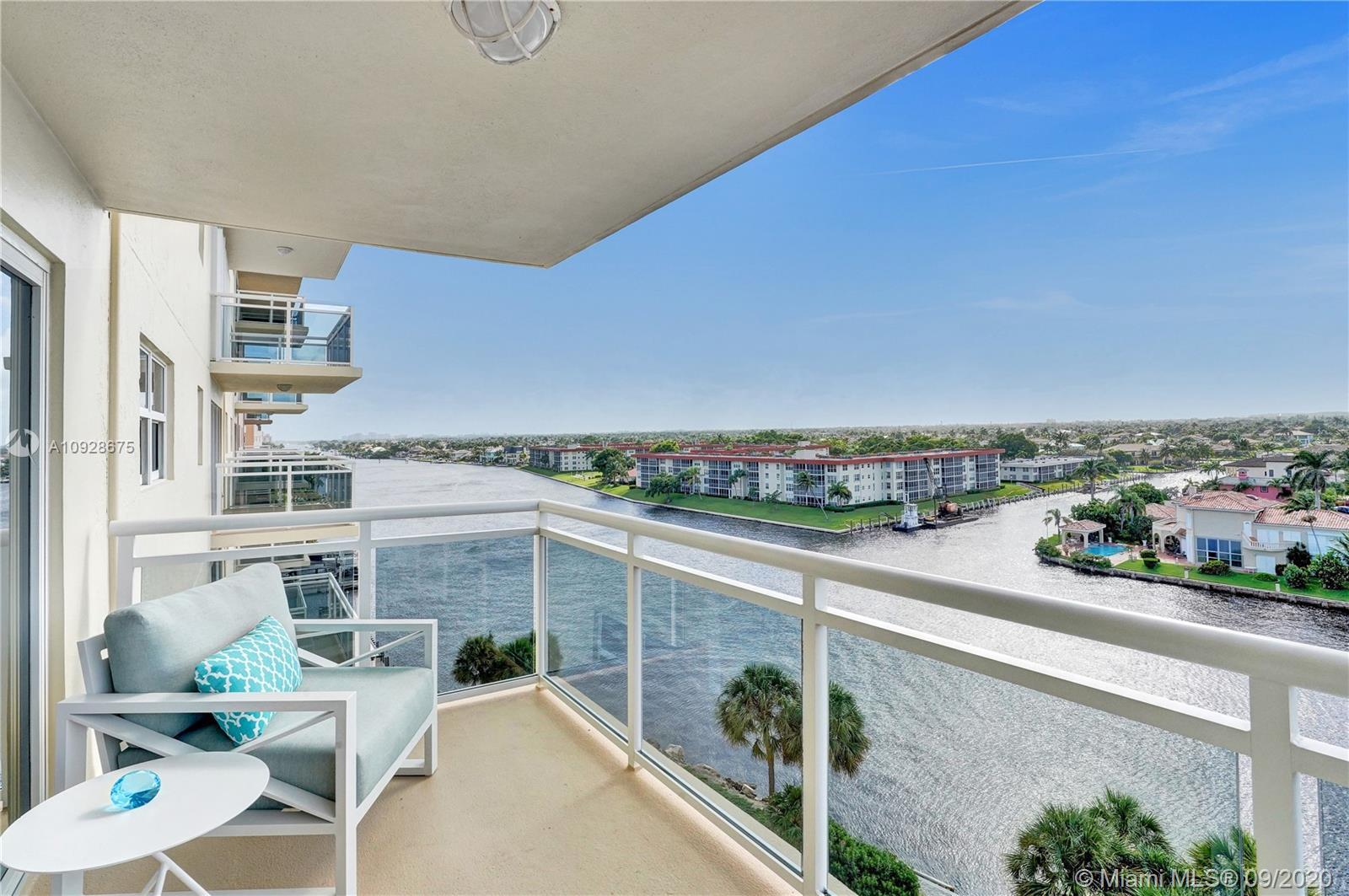 Hillsboro Beach is an upscale town with homes located between the Intracoastal Waterway and the Atla