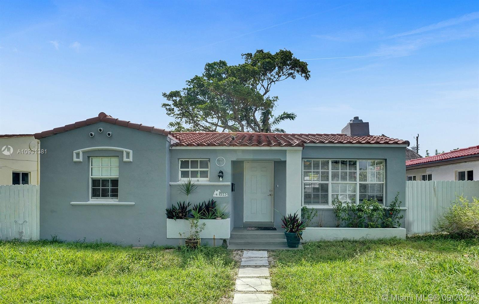 LOCATION is how best describes this property. Modern home located in the desirable Normandy Isles fl