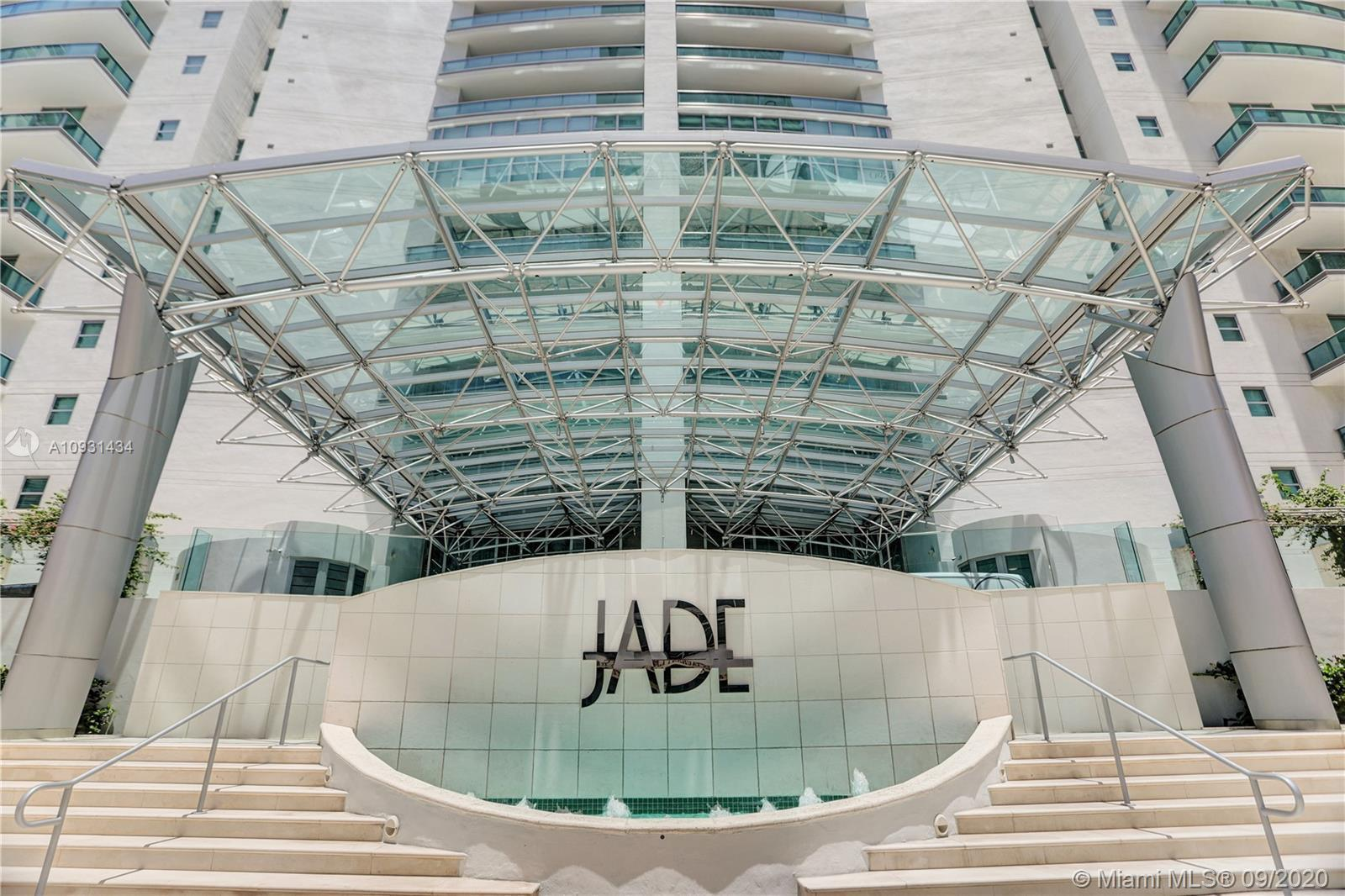 Luxurious, Upscale, Urban living at its best at JADE Residences at Brickell Bay. Unit features priva