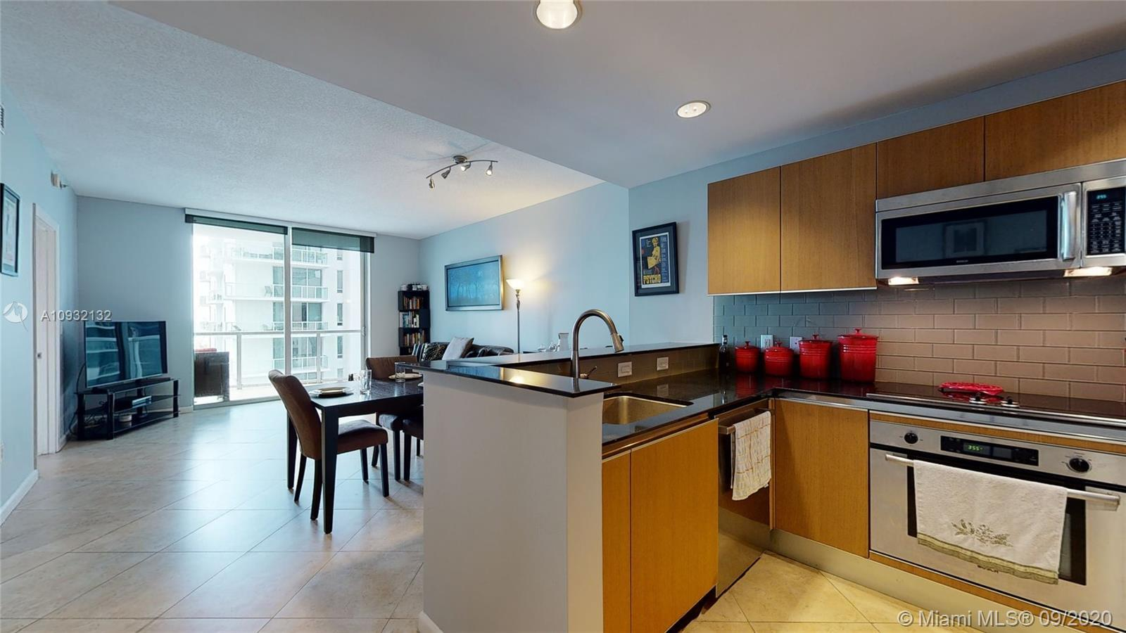 Open the door to your perfectly maintained one bedroom, one bathroom condo. A great opportunity to m
