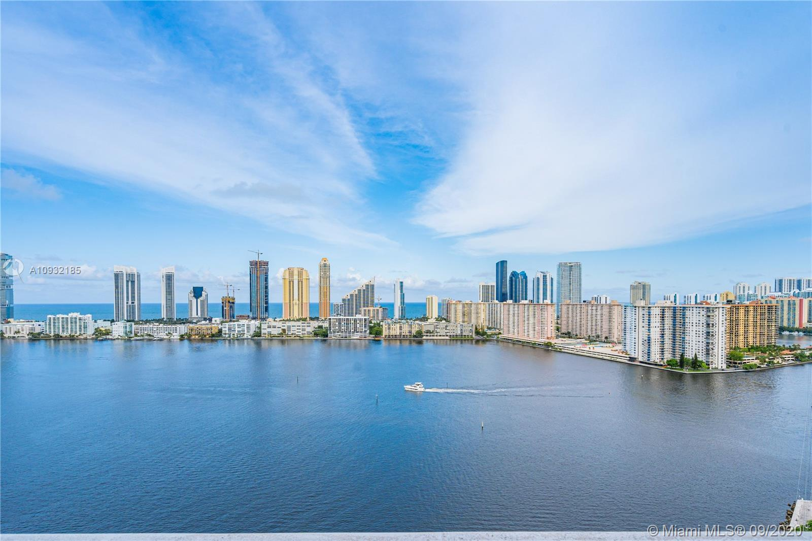 BREATHTAKING IS THE WORD ! Offering one of the best available condo views in the Aventura/North Miam