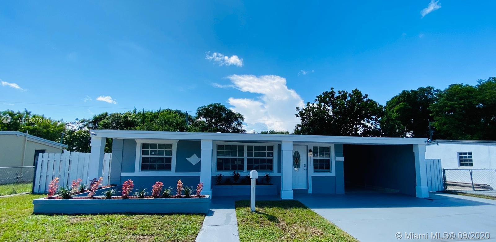 BEAUTIFULLY AND COMPLETELY RENOVATED SINGLE FAMILY HOME IN Pompano Beach!!!!!!