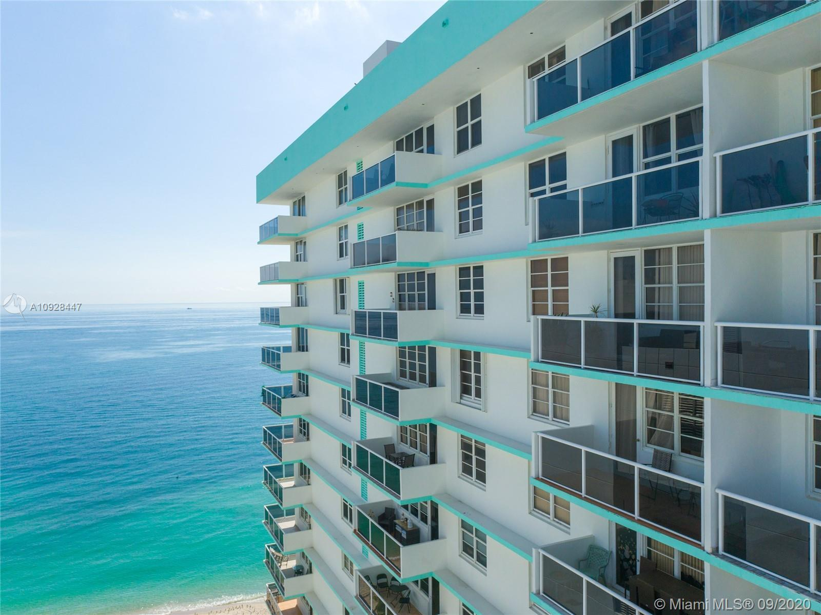 OCEANFRONT BUILDING WITH MANY AMENITIES AND DIRECT BEACH ACCESS. THIS IS A GREAT RENOVATED 2 BED 2 B
