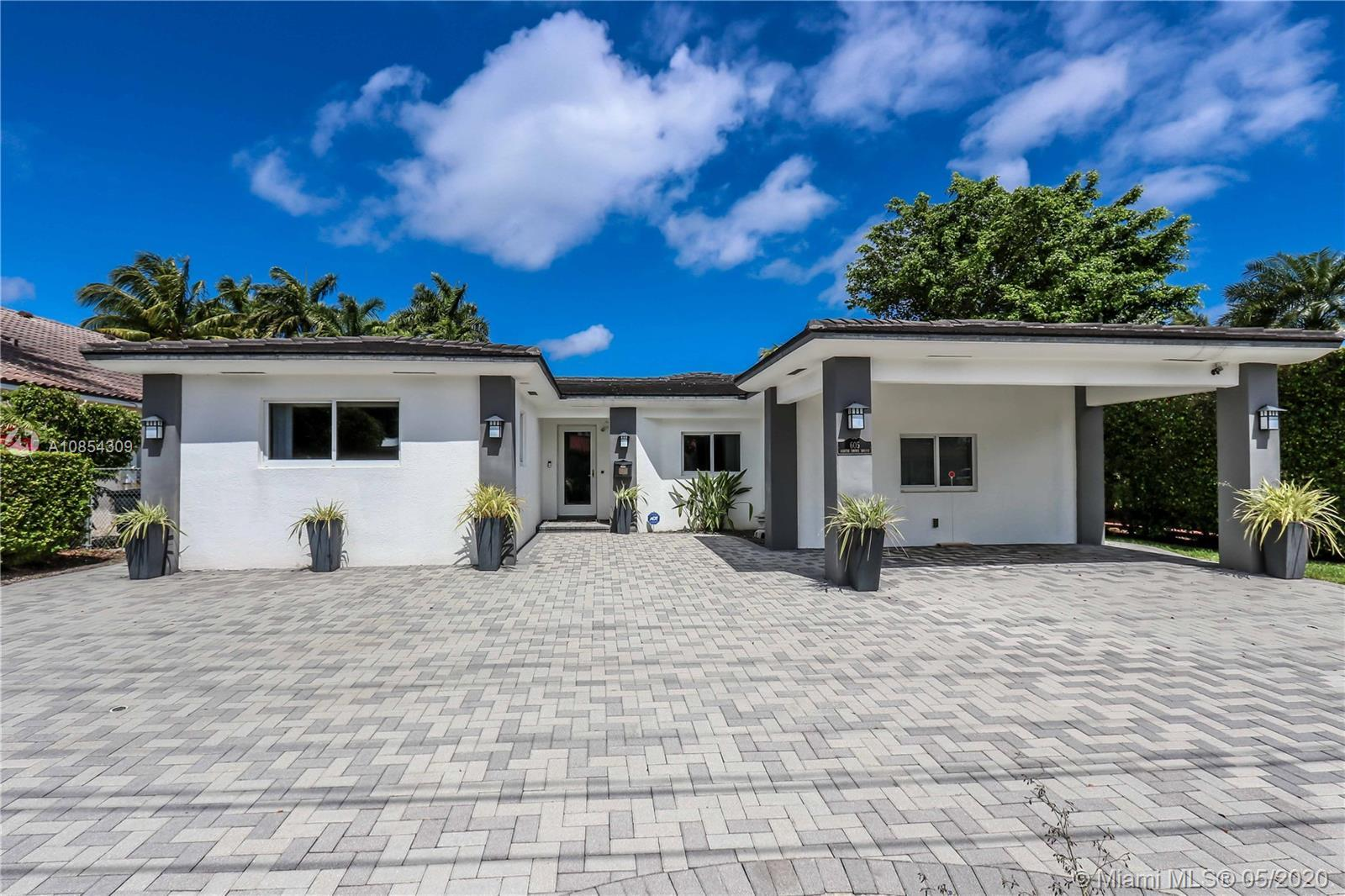 """""""Miami Beach Waterfront Home"""" with beautiful views of Biscayne Bay and direct ocean access with no f"""