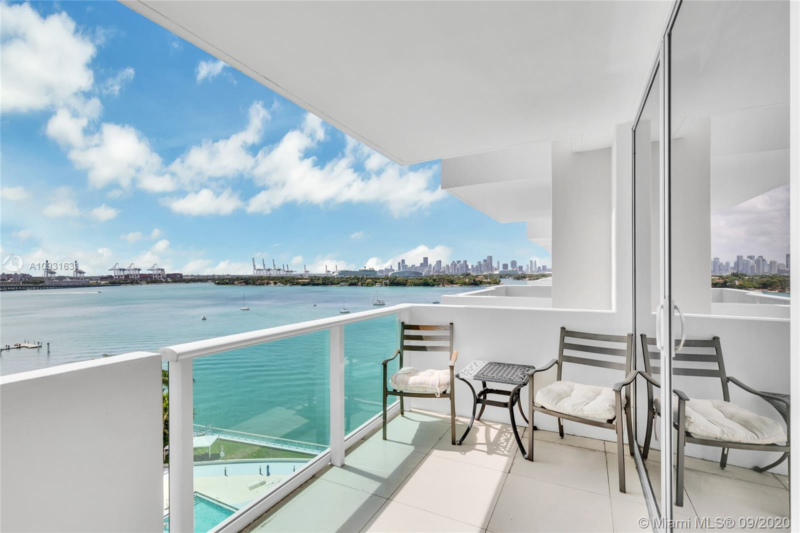 Enjoy beautiful water views in this remarkable updated unit at the Mirador. Owner just paid full spe