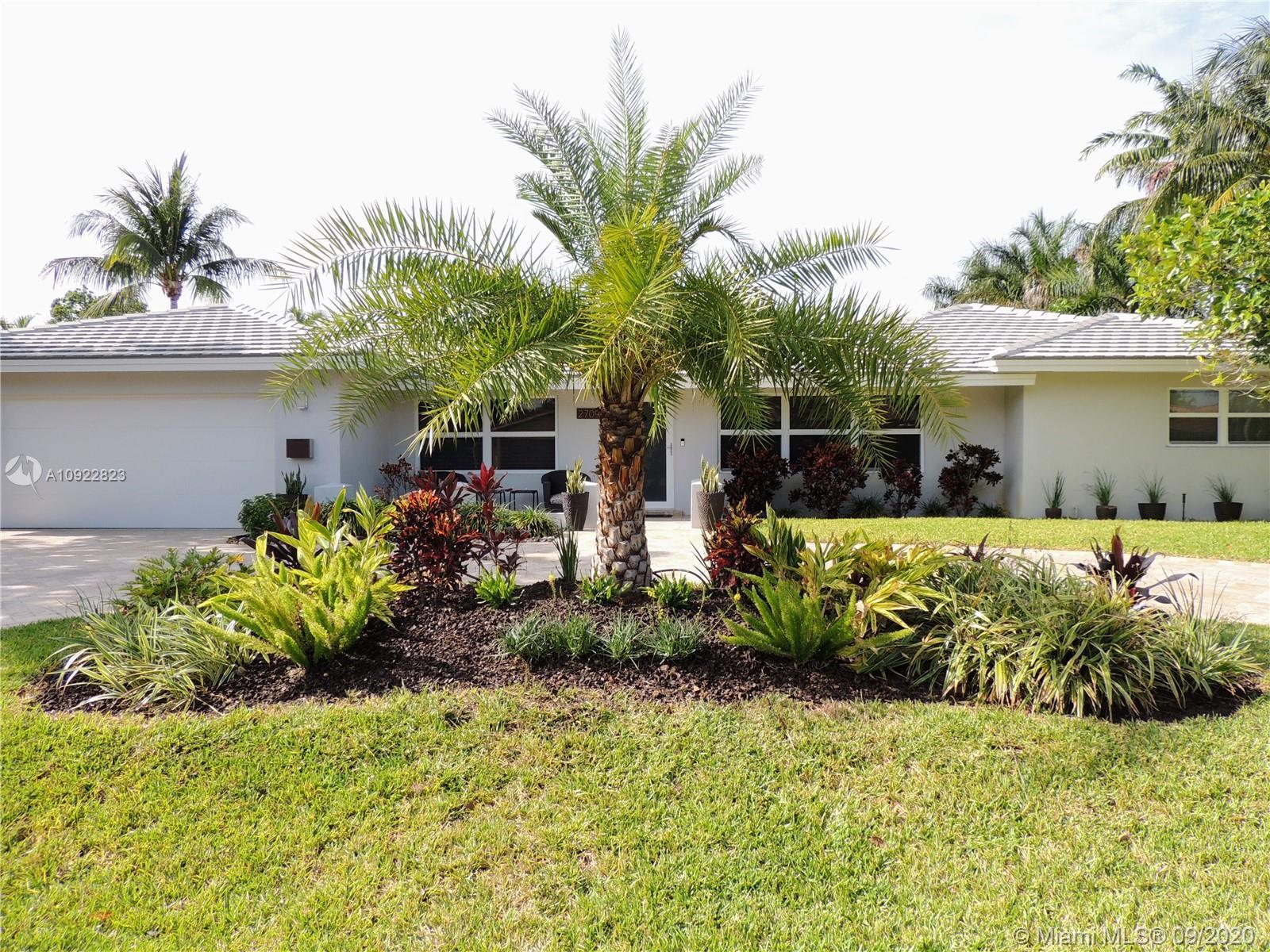 Remodeled home in much desired Coral Ridge. Open floor plan with 3 bedrooms and 4th bonus room that