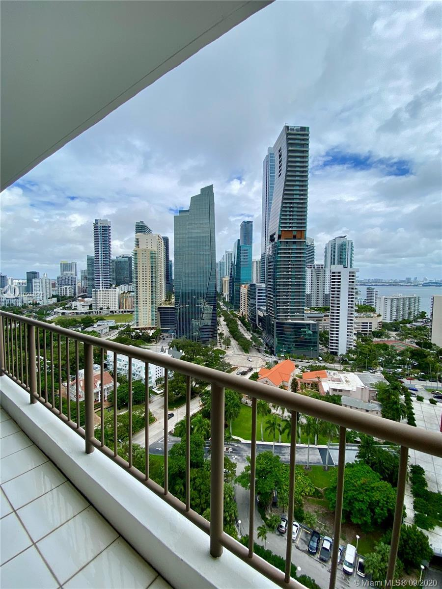 Rare find in Brickell with dock available. Enjoy unobstructed views of the bay and Brickell skyline
