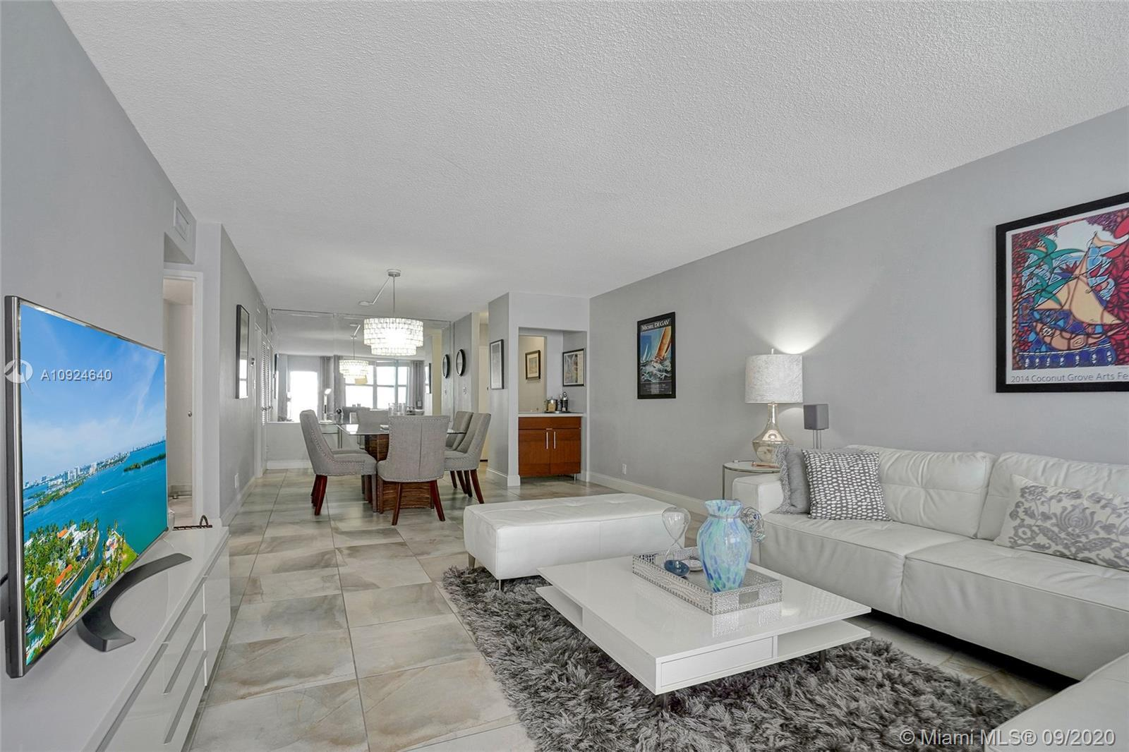 Miami living at its best! Oceanfront large 1 BR, 1.5 bathrooms in sought after Town of Surfside.  St