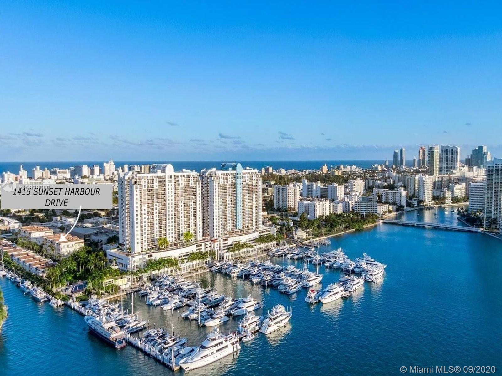 """Exclusive Sunset Harbour Townhomes located in the heart of the """"GO-TO Neighborhood"""" This waterfront"""