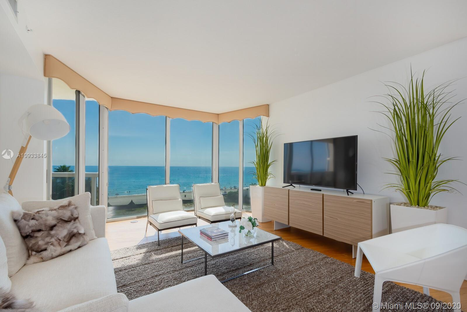 OCEANFRONT CORNER UNIT AT PINNACLE CONDO IN SUNNY ISLES BEACH, GLASS TO CEILING WINDOWS, 3 BED & 3 B