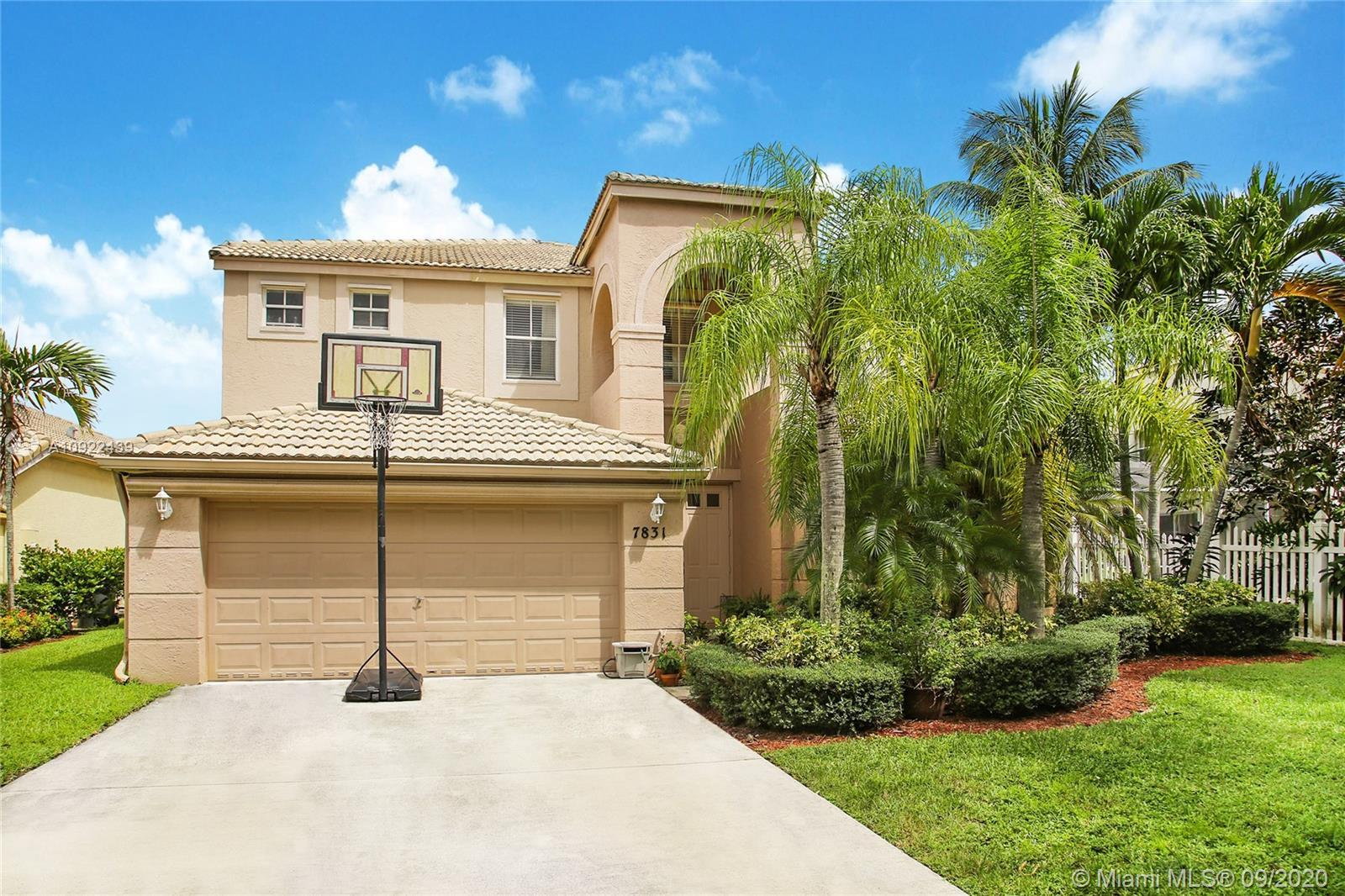 Lovely two story oversized, open floor plan, home with lake views in A rated school district.  Upgra