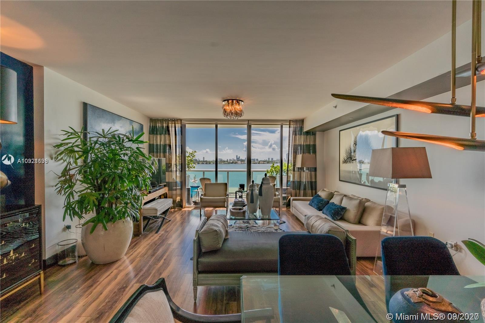 DIRECT WATER VIEWS FROM THIS SPACIOUS 2 BEDROOM + DEN TWO LEVEL UNIT AT CIELO ON THE BAY. BEST PRICE