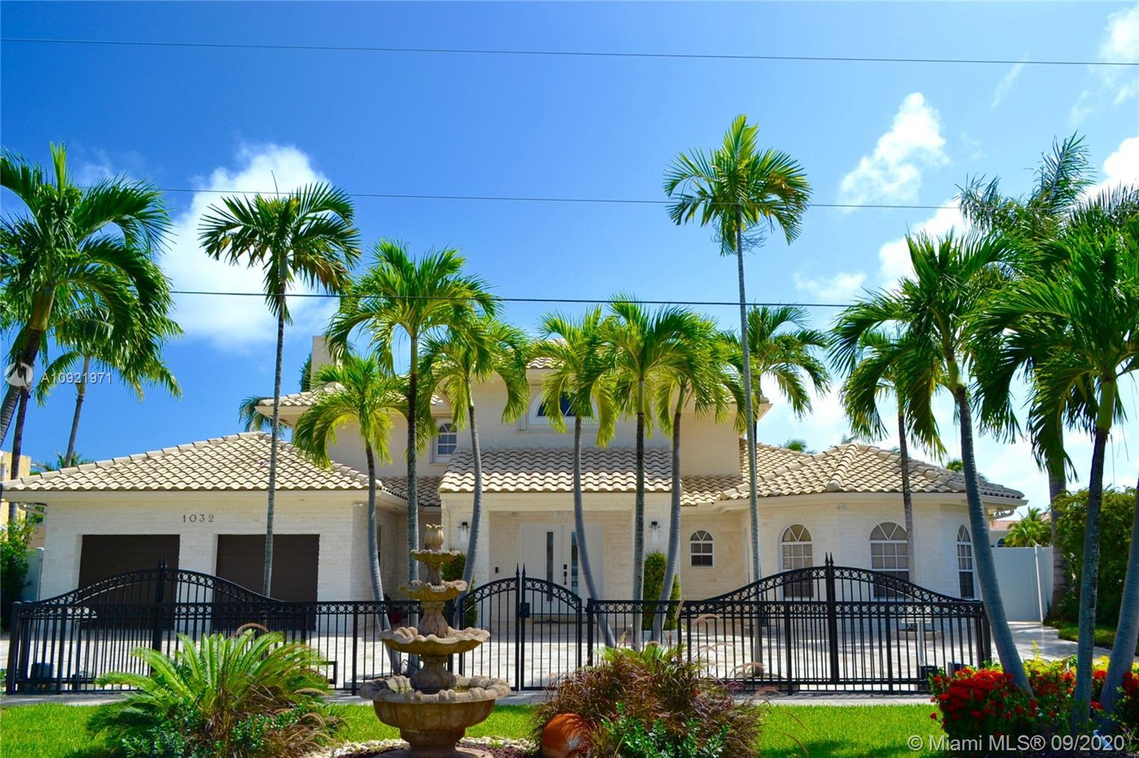 Amazing opportunity to own a completely remodeled home in the Heart of Hollywood Fl. Access to the O