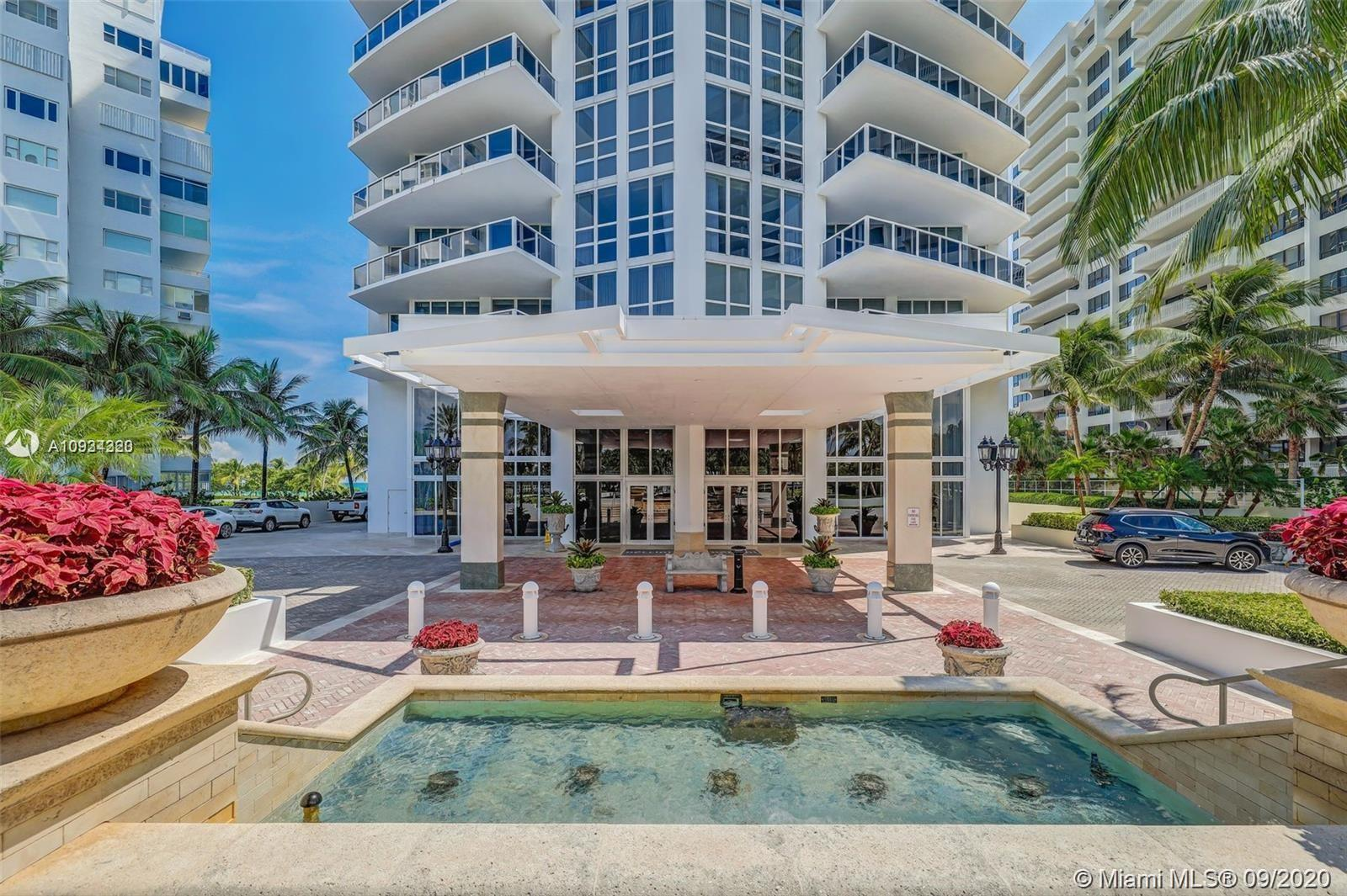 World class building in Bal Harbour. Luxurious NW corner unit on the 20th fl featuring unobstructed