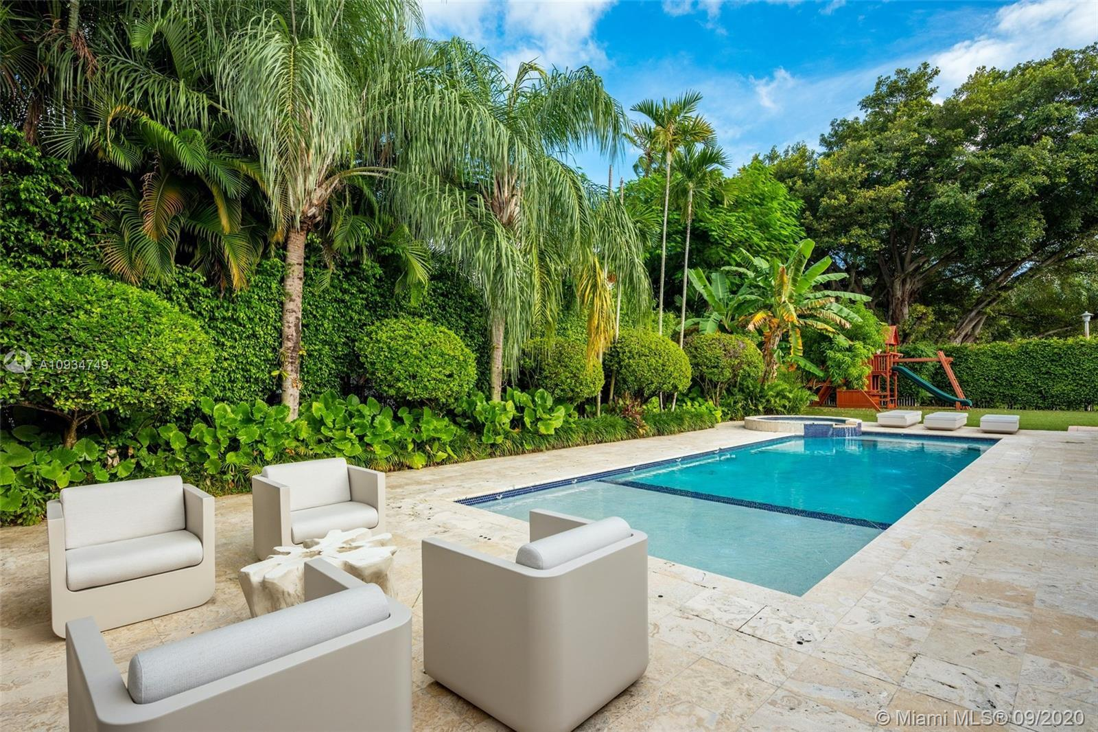 Enjoy living in prestigious gated Bay Point, one of the most exclusive gated communities in Miami. T