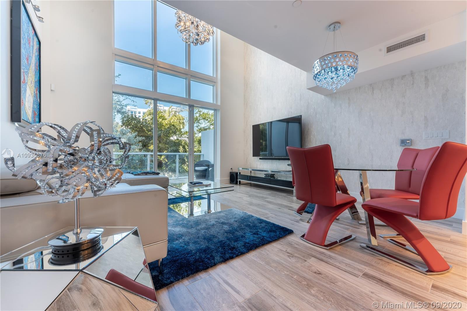 Located in an ultra-exclusive gated luxury modern townhome community nestled between the Design Dist