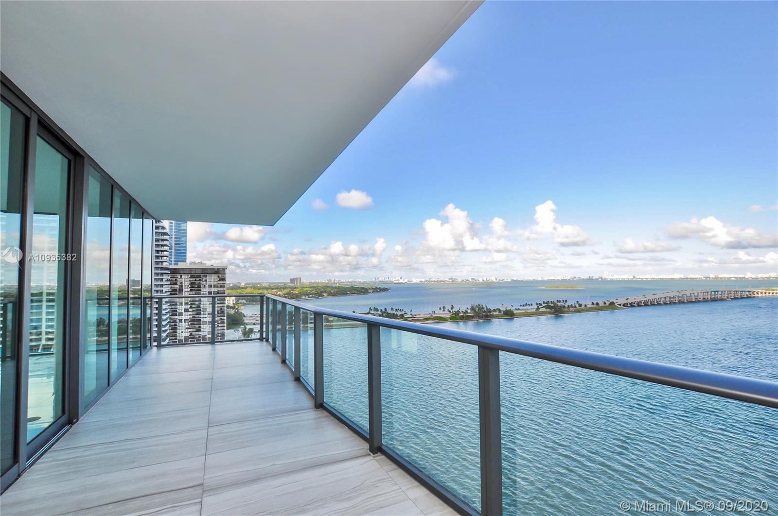 Unobstructed Bay views overlooking Biscayne Bay with spectacular views from every room. Located in t