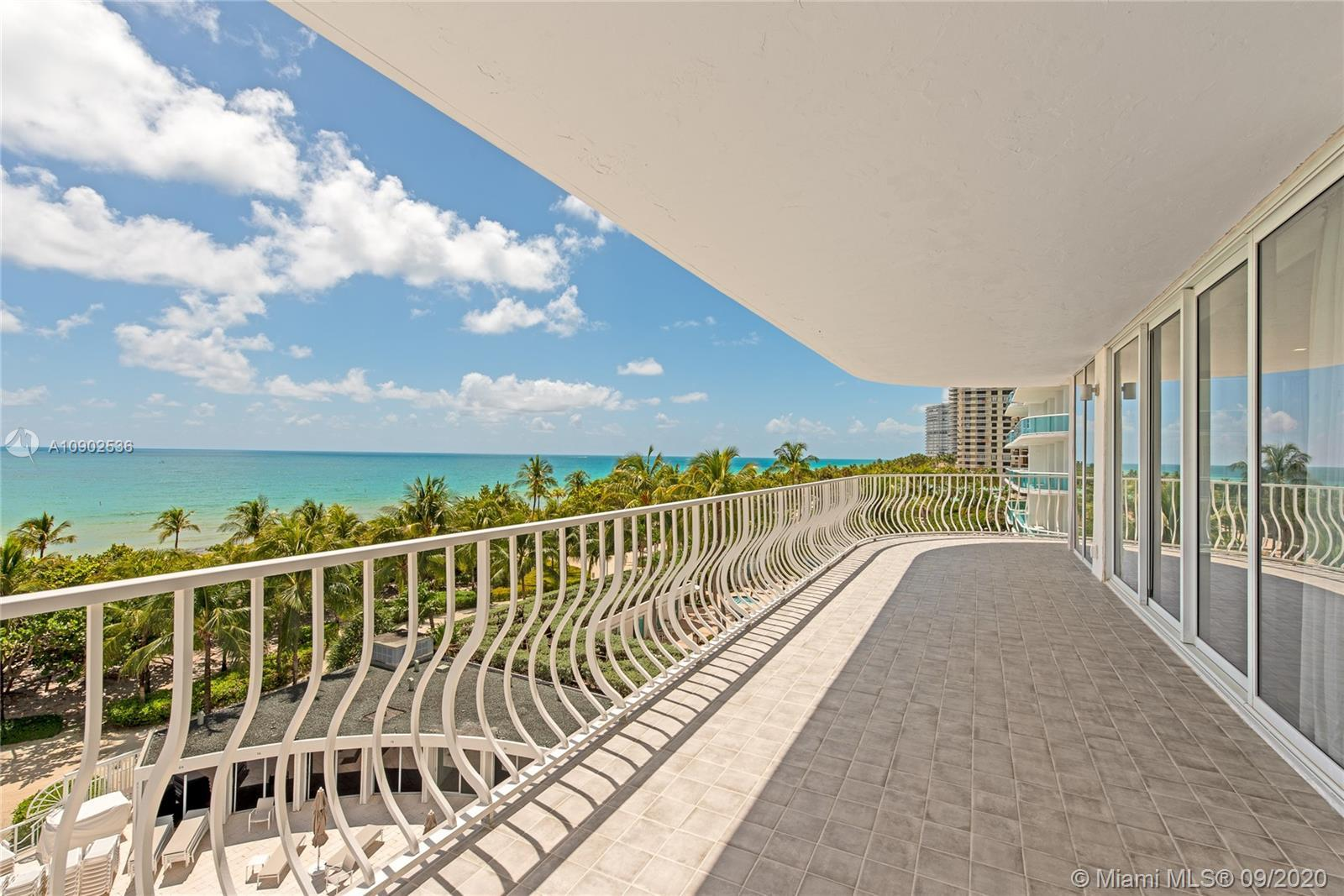 Stunning direct ocean views from this gorgeous and spacious SE corner residence in Bal Harbour 101.