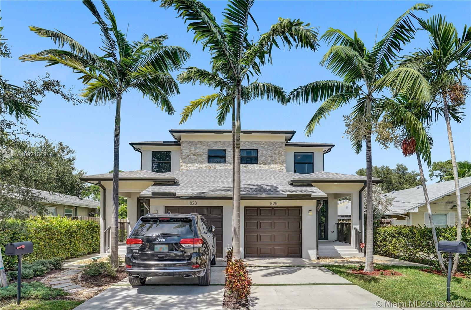 Beautiful townhome built in 2017 located in the heart of Fort Lauderdale. Just East of US-1 and Nort