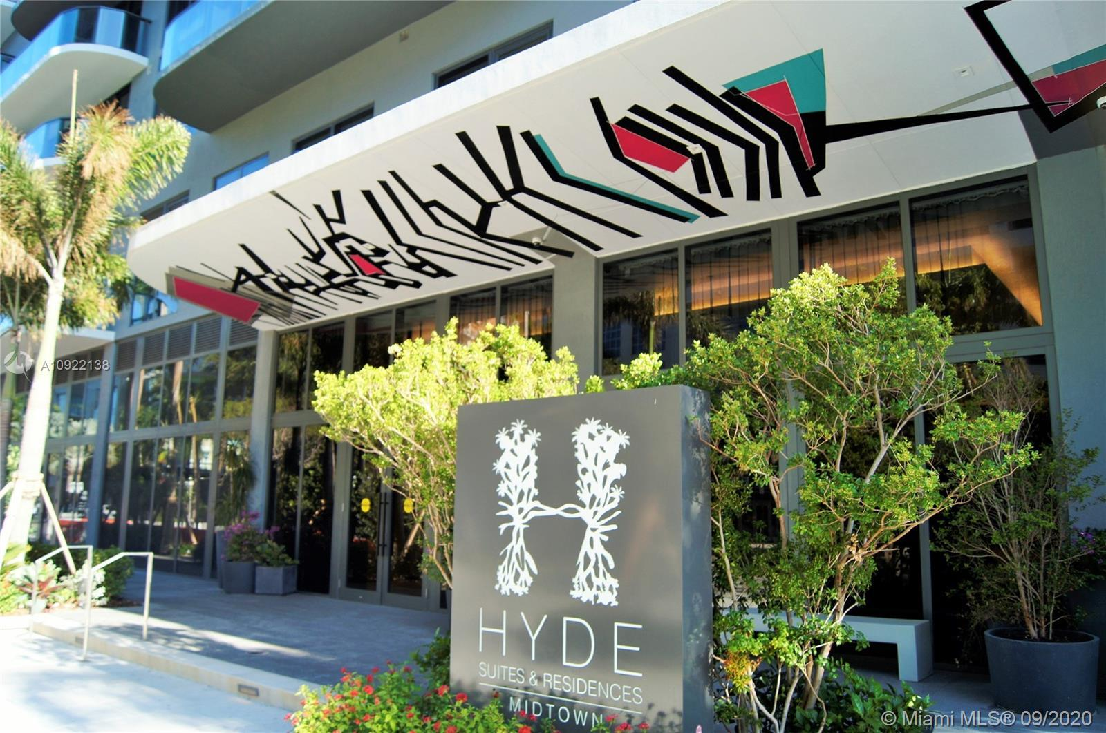 Hyde Midtown Residences and Hotel: Fully Furnished and turnkey New 1BR 1 & 1/2 Bath condo overlookin