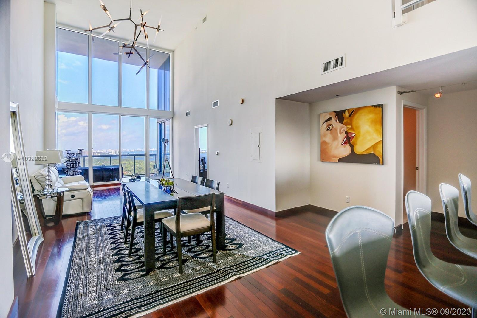 Rare, under $1 million, 1920SF Duplex Penthouse with Incredible Unobstructed Biscayne Bay Views. Dra