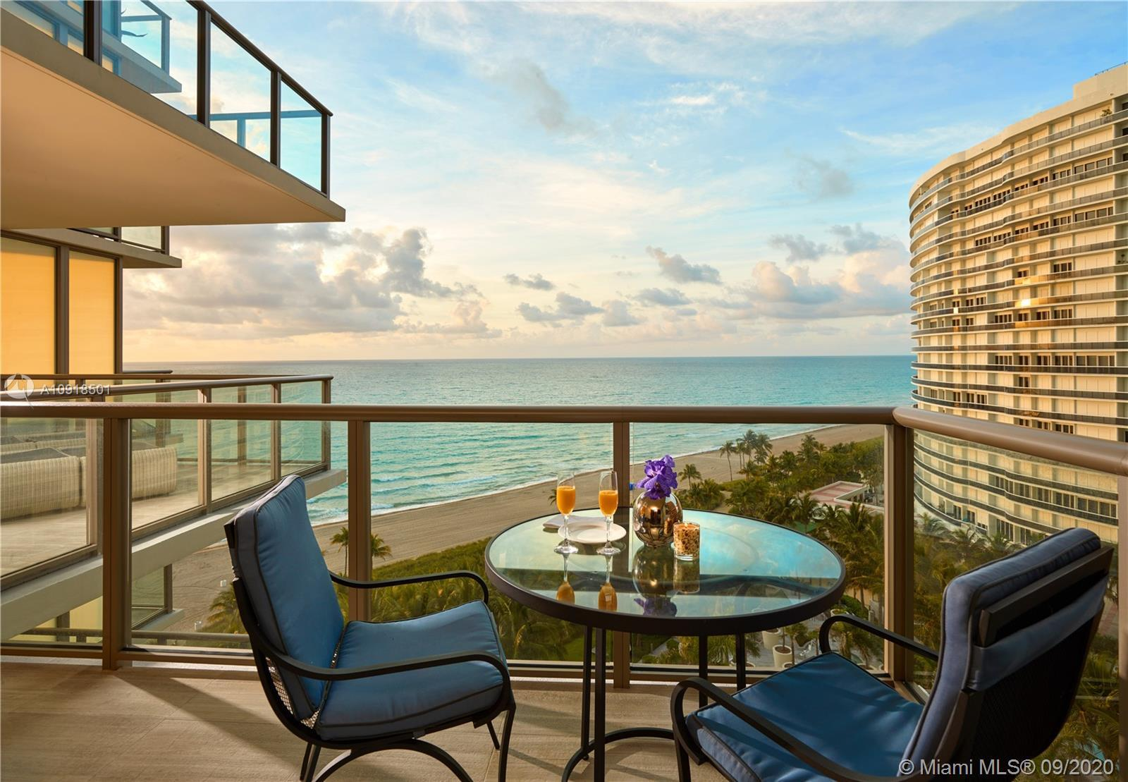Perfect pied-a-terre in the world renown St. Regis Bal Harbour. Rarely available 02 line, this turnk