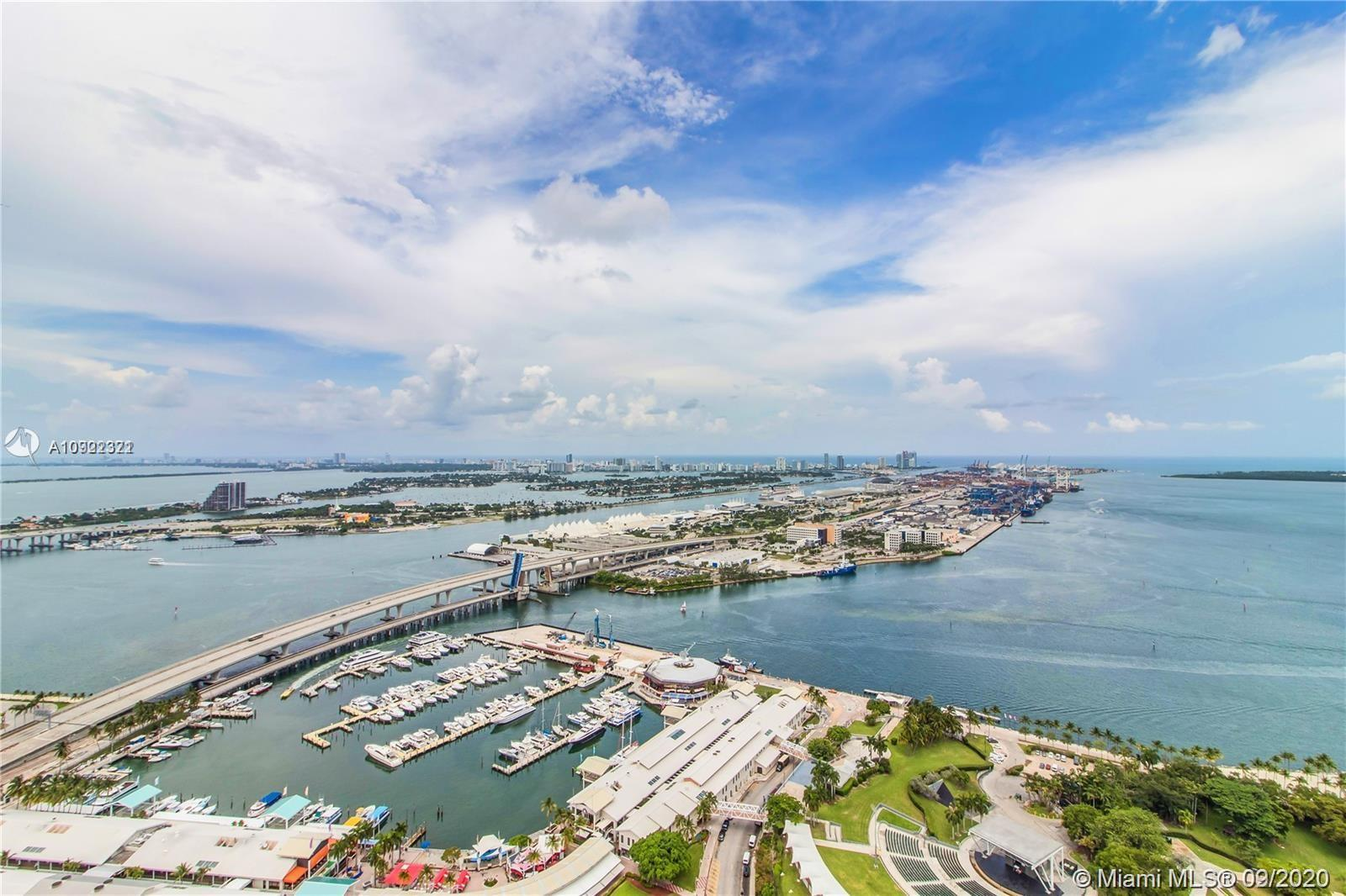 Location, BREATHTAKING WATER VIEW ( Bay,  Atlantic Ocean and  Key Biscayne ). Walking distance to Am